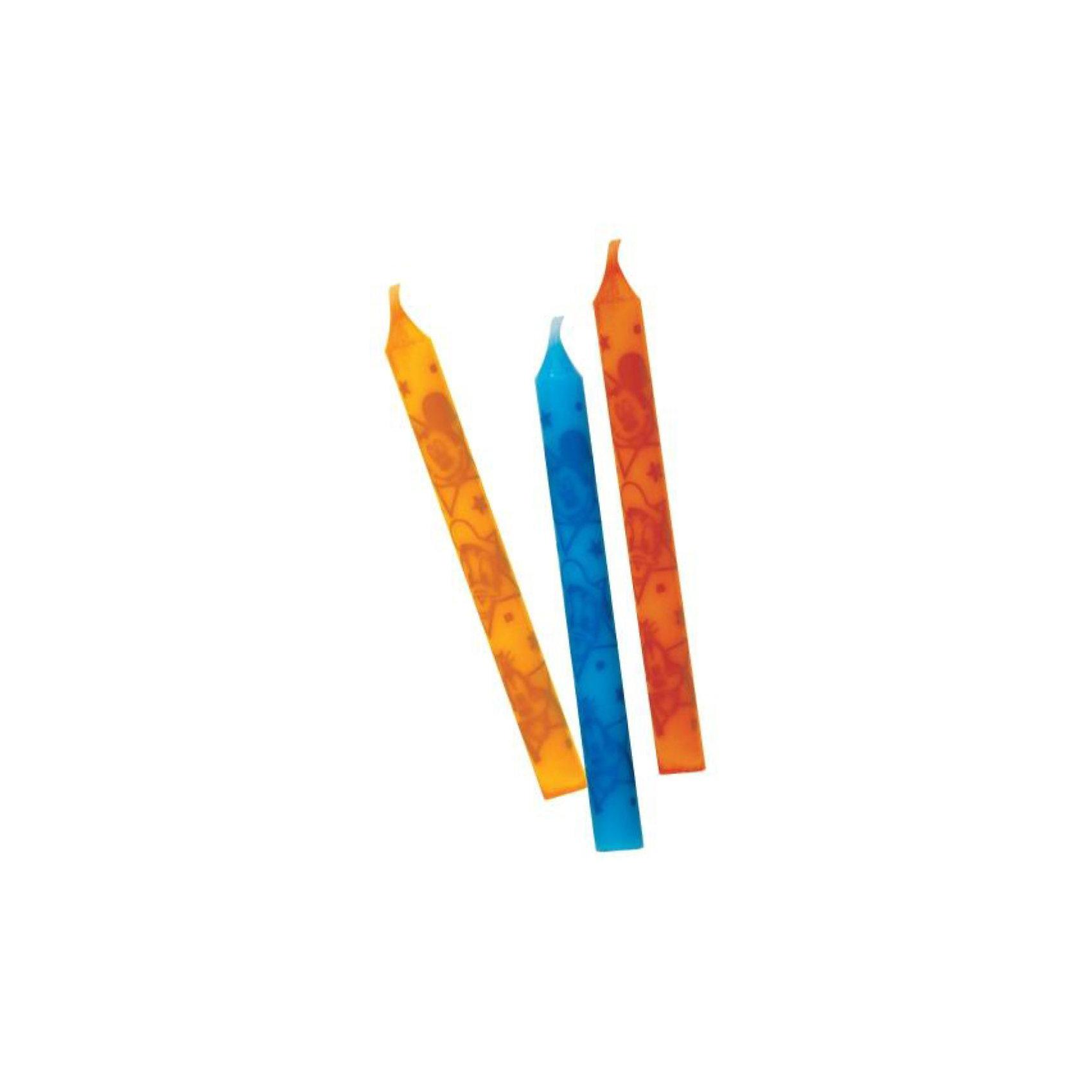 Procos Procos Свечи Микки Маус, 12 шт. стаканы пластиковые procos микки и его друзья сладости