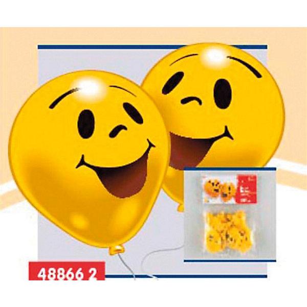 Everts 10 шариков с рисунком УлыбкаВоздушные шары<br>Набор из 10 надувных шариков для декорирования украсят Ваш праздник. В набор входят шарики желтых цветов с улыбающимися мордашками. Шарики сделаны из безопасных материалов, поэтому играть в них можно с рождения. Надувание шариков способствует развитию дыхательной системы человека, а созерцание развивает эстетическое восприятие.<br>Ширина мм: 150; Глубина мм: 230; Высота мм: 10; Вес г: 65; Возраст от месяцев: 36; Возраст до месяцев: 1188; Пол: Унисекс; Возраст: Детский; SKU: 2433013;