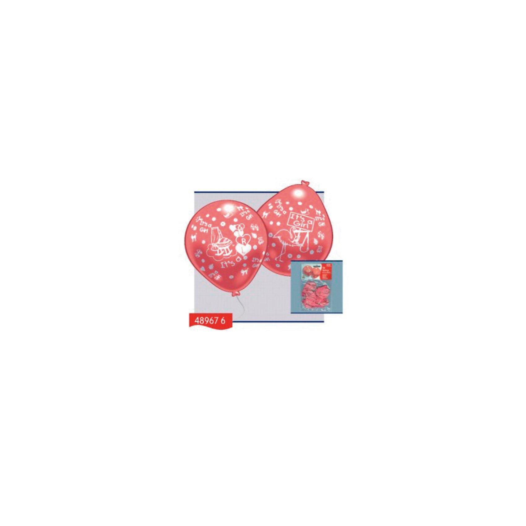 Everts 10 шариков с рисунком Рождение малыша (девочка)Всё для праздника<br>Шарики - это не просто подарок, а еще и отличный способ украсить интерьер на праздник по случаю рождения малыша! Счастливый отец может преподнести своей второй половинке в честь рождения девочки розовые шарики, которые вызовут массу положительных эмоций! Шарики сделаны из безопасных материалов, поэтому играть в них можно с рождения. Надувание шариков способствует развитию дыхательной системы человека, а созерцание развивает эстетическое восприятие.<br><br>Ширина мм: 150<br>Глубина мм: 230<br>Высота мм: 10<br>Вес г: 65<br>Возраст от месяцев: 36<br>Возраст до месяцев: 1188<br>Пол: Женский<br>Возраст: Детский<br>SKU: 2433016