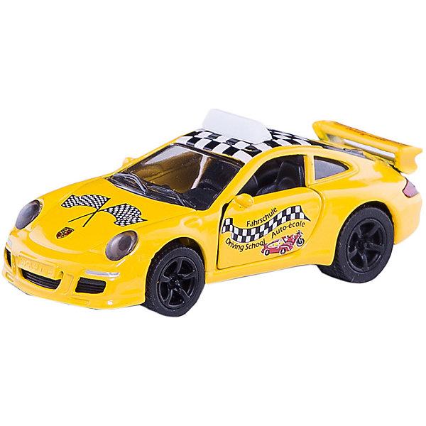 Порше 911 Автошкола, SIKUМашинки<br>Автомобиль мечты для практических занятий в автошколе марки Porsche 911. Тренировочная машина оснащена задним спойлером, мощными спортивными колесными дисками с широкими шинами для лучшего сцепления с дорогой.<br><br>Дополнительная информация:<br><br>Размеры: 7,9 x 3,4 x 2,8 см<br><br>Порше 911 (Porsche) Автошкола 1457 можно купить в нашем магазине.<br><br>Ширина мм: 97<br>Глубина мм: 78<br>Высота мм: 35<br>Вес г: 54<br>Возраст от месяцев: 36<br>Возраст до месяцев: 96<br>Пол: Мужской<br>Возраст: Детский<br>SKU: 2437471