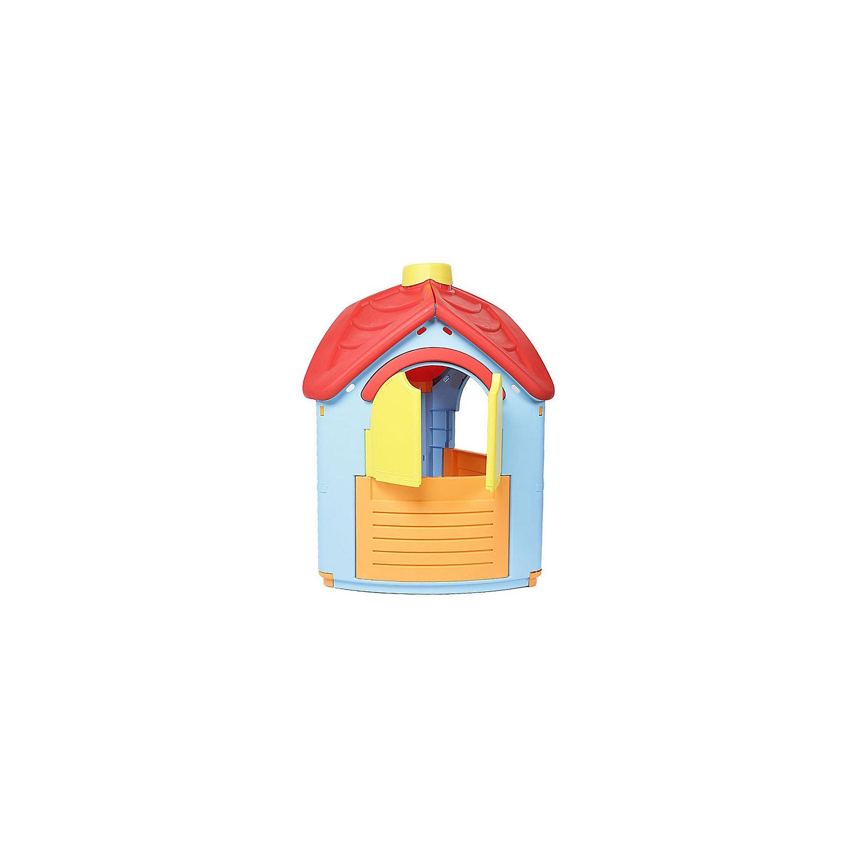 PalPlay Домик - ВиллаДомики и мебель<br>Marianplast Домик – Вилл - очень уютный домик для детей от 1,5 до 6 лет.<br><br>Домик очень устойчив, легко собирается без использования инструментов — детали соединяются и закрепляются специальными пластиковыми гайками, которые входят в комплект.<br><br>Игровой домик Marian Plast изготовлен из яркого, прочного, нетоксичного пластика, устойчивого к выцветанию и воздействию влаги, с соблюдением европейского стандарта качества и безопасности для детских товаров.<br><br>Дополнительная информация:<br><br>Размер домика: 95x102x126 см. <br>Размер упаковки: 112x92x25 см.<br>Вес 11,6 кг, с упаковкой 13,65 кг<br>Материал: высокопрочный пластик<br><br>Домик стимулирует малыша к активным действиям и движению, развивает воображение. Яркий и красочный, он обязательно понравится вашему ребенку!<br><br>Ширина мм: 950<br>Глубина мм: 1020<br>Высота мм: 1260<br>Вес г: 16500<br>Возраст от месяцев: 18<br>Возраст до месяцев: 144<br>Пол: Унисекс<br>Возраст: Детский<br>SKU: 2442782