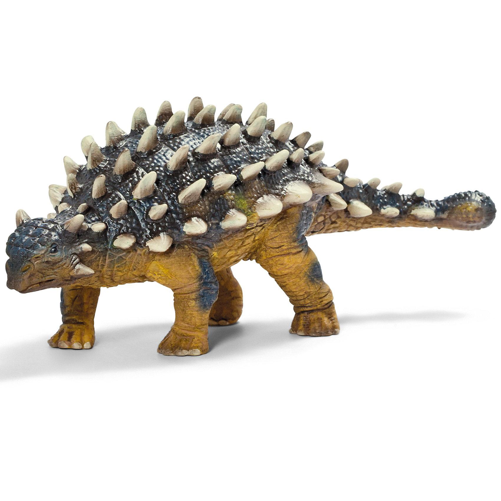 Сайшаня, SchleichСаишания — достойный представитель доисторических животных. Внешне этот динозавр кажется небольшим. Но его защитные приспособления вызывают восхищения. На голове, туловище и хвосте Саишании выступают достаточно острые шипы белого цвета. К тому же, на хвосте Саишания имеет некоторое подобие булавы, удары которой сразят наповал любого врага. Эту фигурку должен иметь каждый в своей коллекции динозавров.<br><br>Дополнительная информация:<br><br>Материал: каучуковый пластик<br>Размеры: 17,0 ? 6,0 ? 6,5 см<br><br>Фигурку Сайшаня, Schleich (Шляйх) можно купить в нашем магазине.<br><br>Ширина мм: 179<br>Глубина мм: 60<br>Высота мм: 59<br>Вес г: 141<br>Возраст от месяцев: 36<br>Возраст до месяцев: 96<br>Пол: Мужской<br>Возраст: Детский<br>SKU: 2445902