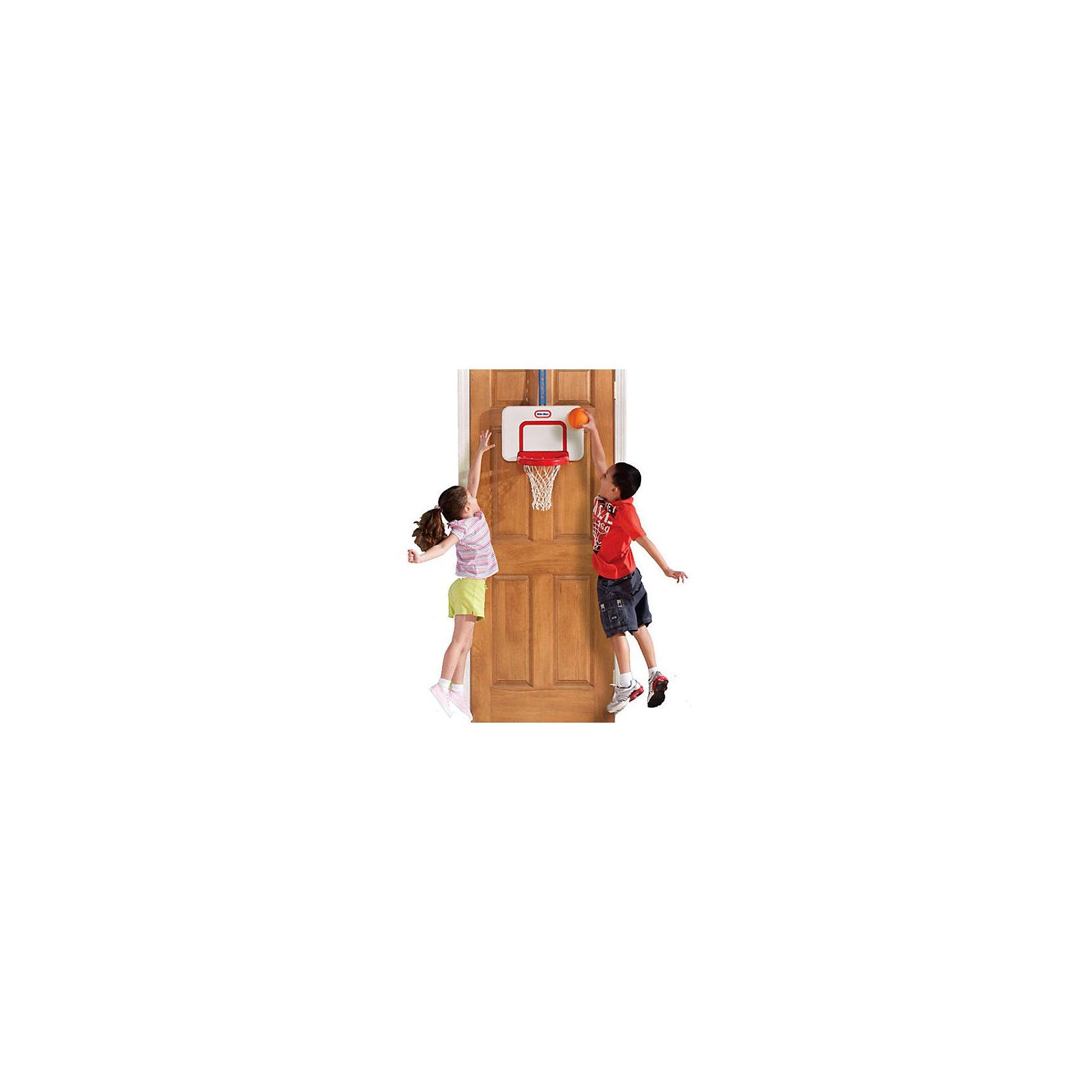 Little Tikes Баскетбольный щитБаскетбольный навесной щит от Little Tikes для активного времяпрепровождения ребенка как дома так и на улице. Баскетбольное кольцо с сеткой, можно с лёгкостью крепить даже на дверь и играть, не выходя из дома.<br>С помощью крепёжной ленты можно установить щит на любую высоту, в зависимости от роста ребенка. Щит легко устанавливается, можно сразу начинать веселую игру, кольцо возвращается в исходное положение после удара по нему мячом.<br><br>В комплекте: щит с корзиной, мяч и крепежная лента.<br><br>Дополнительная информация:<br><br>-Материал: пластик<br>-Размеры игрушки: 42 x 135 x 26 см.<br>-Размер упаковки: 29 х 12 х 46 см.<br>-Вес с упаковкой:1,5 кг.<br><br>Игровой набор способствует развитию ловкости и координации Вашего ребенка.<br> <br>Купить баскетбольный щит от Little Tikes можно в нашем магазине.<br><br>Ширина мм: 120<br>Глубина мм: 460<br>Высота мм: 300<br>Вес г: 1500<br>Возраст от месяцев: 24<br>Возраст до месяцев: 1188<br>Пол: Мужской<br>Возраст: Детский<br>SKU: 2445963