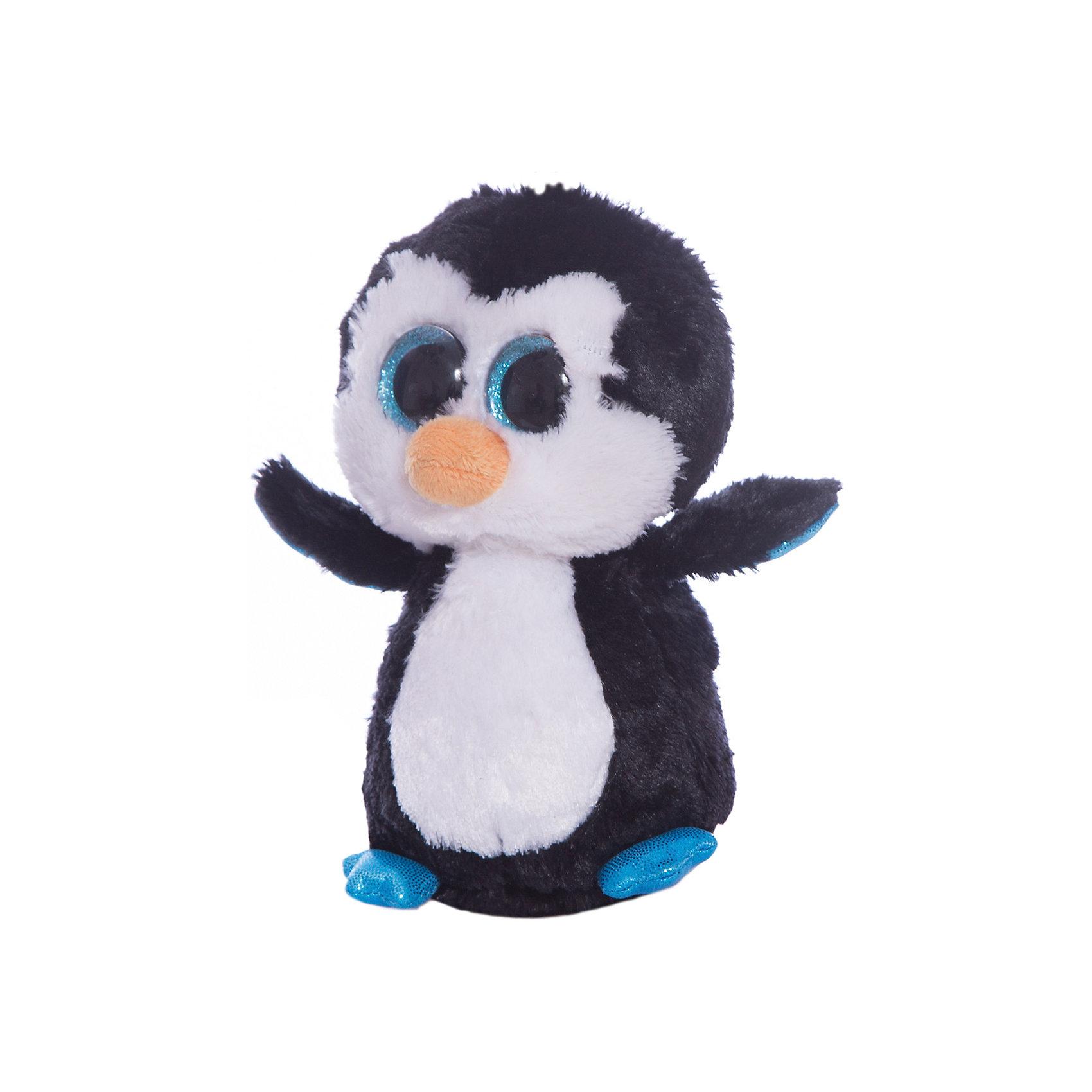 Пингвин Waddles, TyЗамечательный Пингвин Waddles от Ту станет самым лучшим другом Вашему малышу. Он станет любимой игрушкой, с которой можно весело играть днем и уютно засыпать ночью. Игрушечный пингвинчик составит приятную компанию малышу на прогулке. Он представляет новую коллекцию мягких игрушек Beanie Boos. Особенность игрушки в том, что она понравится как мальчикам, так и девочкам. Замечательный Пингвин Waddles с невероятно добрыми искренними глазками еще никого не оставлял равнодушным! У пингвинчика мягкая шерстка черного и белого цвета. Ребенок может разыгрывать любые сюжеты с забавным другом, благодаря чему у него будет развиваться фантазия, воображение, а также навыки сюжетно-ролевой игры. Заботясь о маленьком друге малыш научится бережному отношению к своим вещам, игрушкам и животным. Рассказав ребенку о пингвинах и их жизни в Арктике, Вы расширите представления малыша об окружающем мире!<br><br>Дополнительная информация:<br><br>- Игрушка развивает: тактильные навыки, зрительную координацию, мелкую моторику рук;<br>- Материалы не вызовут аллергии у Вашего малыша;<br>- Яркие и стойкие цвета приятны для глаз;<br>- Материал: ткань, пластик, искусственный мех;<br>- Наполнение: синтепон;<br>- Высота игрушки: 15,24 см<br><br>Пингвина Waddles, Ty, можно купить в нашем интернет-магазине.<br><br>Ширина мм: 157<br>Глубина мм: 101<br>Высота мм: 76<br>Вес г: 86<br>Возраст от месяцев: 12<br>Возраст до месяцев: 60<br>Пол: Унисекс<br>Возраст: Детский<br>SKU: 2446697