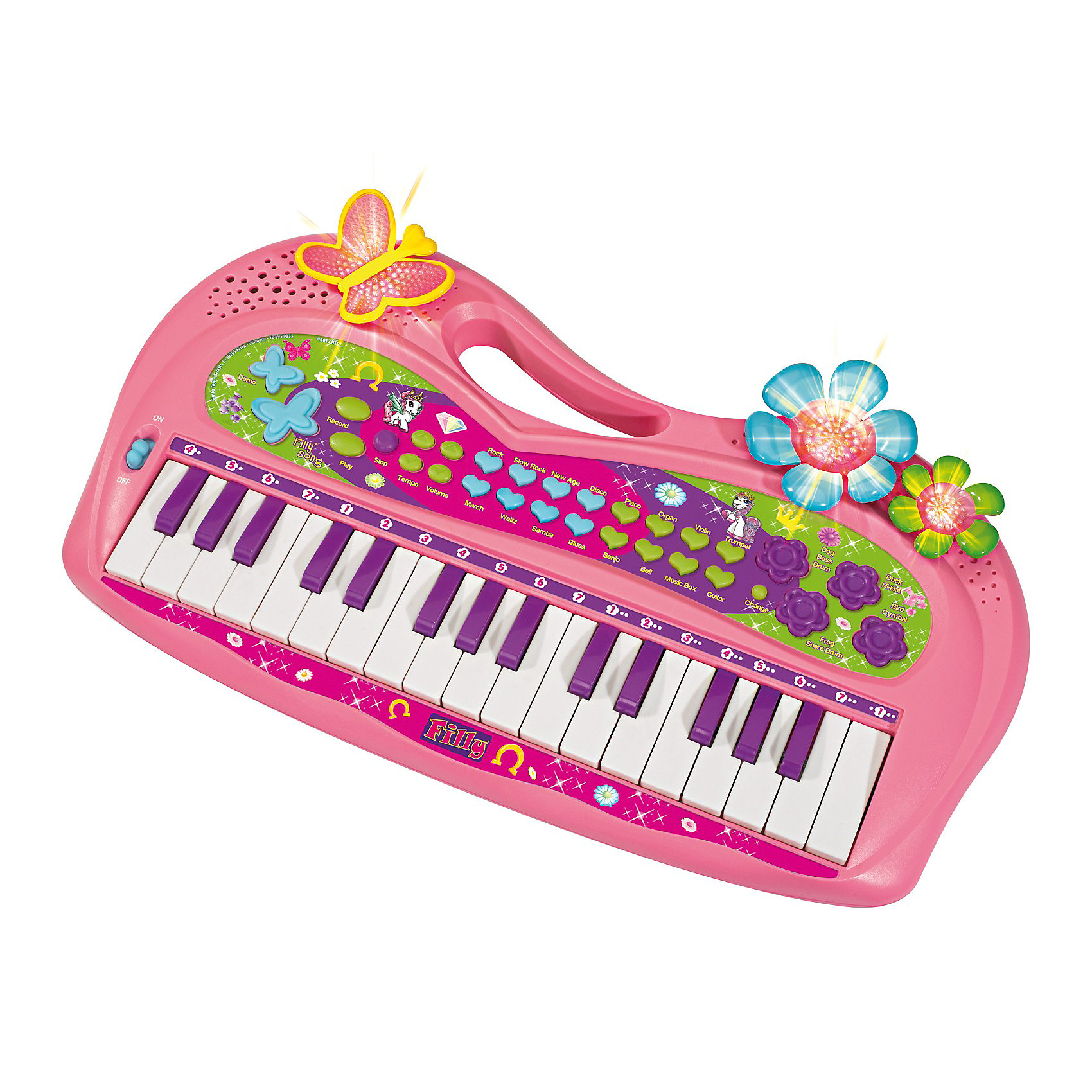 Simba Пианино, Filly