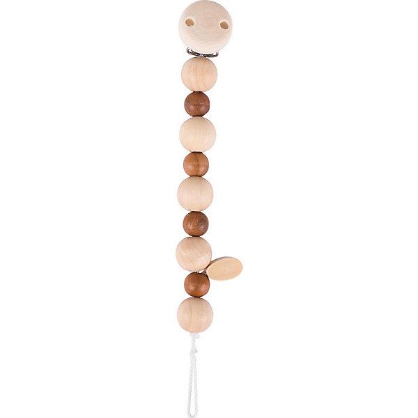 Держатель  с клипсой  неокрашенный Сердце, HEIMESSИгрушки для новорожденных<br>Держатель  с клипсой  неокрашенный Сердце, HEIMESS (ХАЙМЕСС) – держатель для соски, который можно использовать как развивающую игрушку.<br>Деревянный держатель с клипсой Сердце от немецкого бренда Heimess (Хаймесс) не позволит пустышке случайно упасть. Его можно использовать с рождения. Держатель для соски состоит из разноцветных деревянных элементов в виде шариков и сердца. Держатель сделан из легкого дерева, прищепка - из металла. Металлическая прищепка закрыта деревянным кружочком, поэтому малыш не сможет пораниться об нее. Длина держателя рассчитана таким образом, чтобы он не стеснял движений малыша и не смог обвить шею ребенка. Пустышка крепится с помощью петельки. Можно использовать два вида сосок: имеющие колечки крепятся стандартно «петля в петлю», а соска без кольца затягивается в петлю с помощью деревянного язычка. Подросшему малышу держатель будет интересен как развивающая игрушка. Он с интересом будет перебирать элементы держателя, рассматривать их форму. Все детали очень гладкие и абсолютно безопасны для малыша. Держатель изготовлен из качественной древесины. Важной особенностью является поверхностная пропитка элементов держателя, что исключает возможность сколов. HEIMESS (ХАЙМЕСС) - крупный немецкий производитель детских игрушек из дерева. Это игрушки с историей и традициями настоящего немецкого производства. Качество и безопасность этих игрушек доказаны, более чем 50 летним опытом. Вся продукция под брендом HEIMESS (ХАЙМЕСС) производится непосредственно в Германии.<br><br>Дополнительная информация:<br><br>- Материал: древесина, стойкие краски на водной основе<br>- Длина: 21 см.<br>- Вес: 23 гр.<br><br>Держатель  с клипсой  неокрашенный Сердце, HEIMESS (ХАЙМЕСС) можно купить в нашем интернет-магазине.<br><br>Ширина мм: 200<br>Глубина мм: 50<br>Высота мм: 40<br>Вес г: 100<br>Возраст от месяцев: 0<br>Возраст до месяцев: 1188<br>Пол: Унисекс<br>Возраст: Детский<br>SKU: 2456957