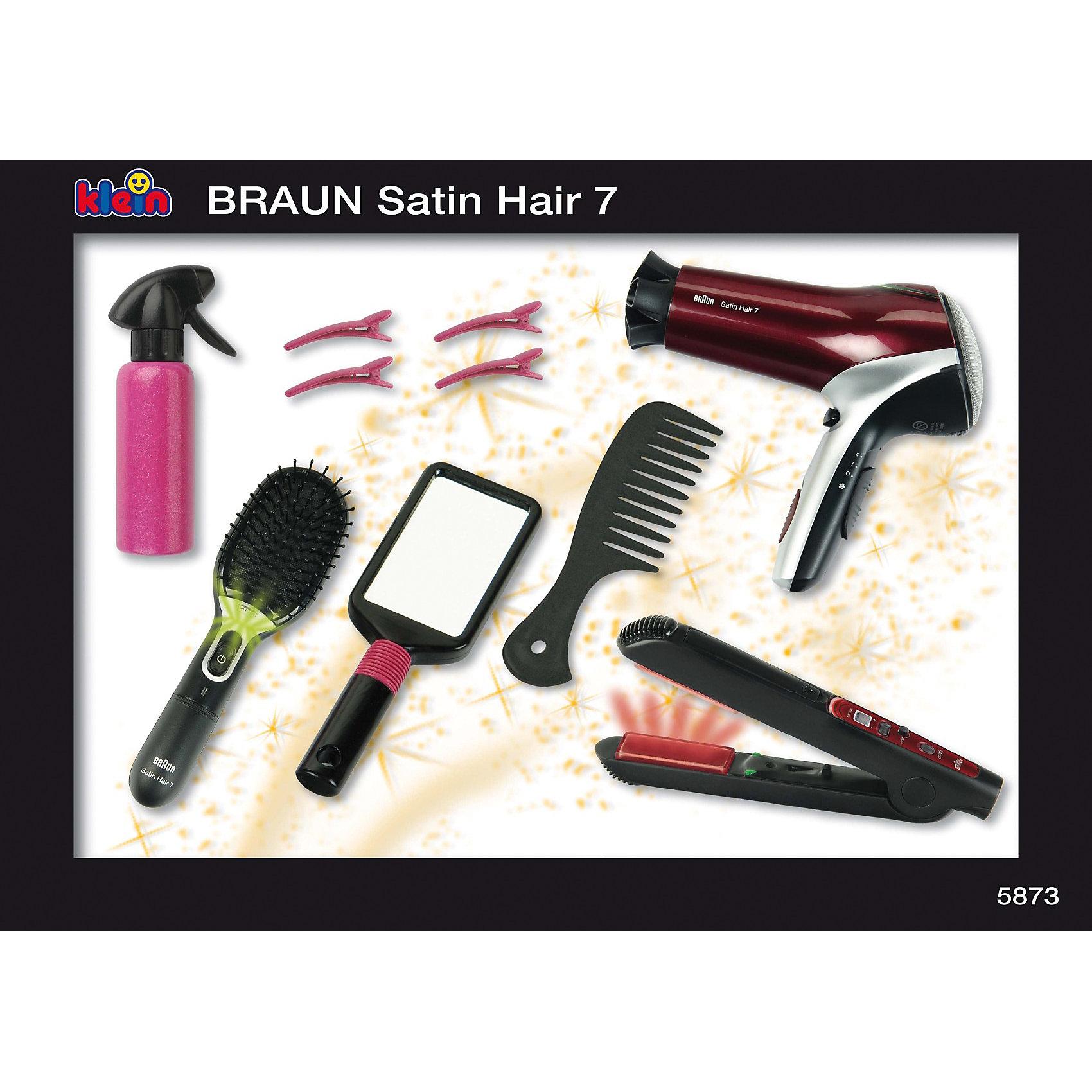 ����� �������� � �����, BRAUN SATIN HAIR (klein)