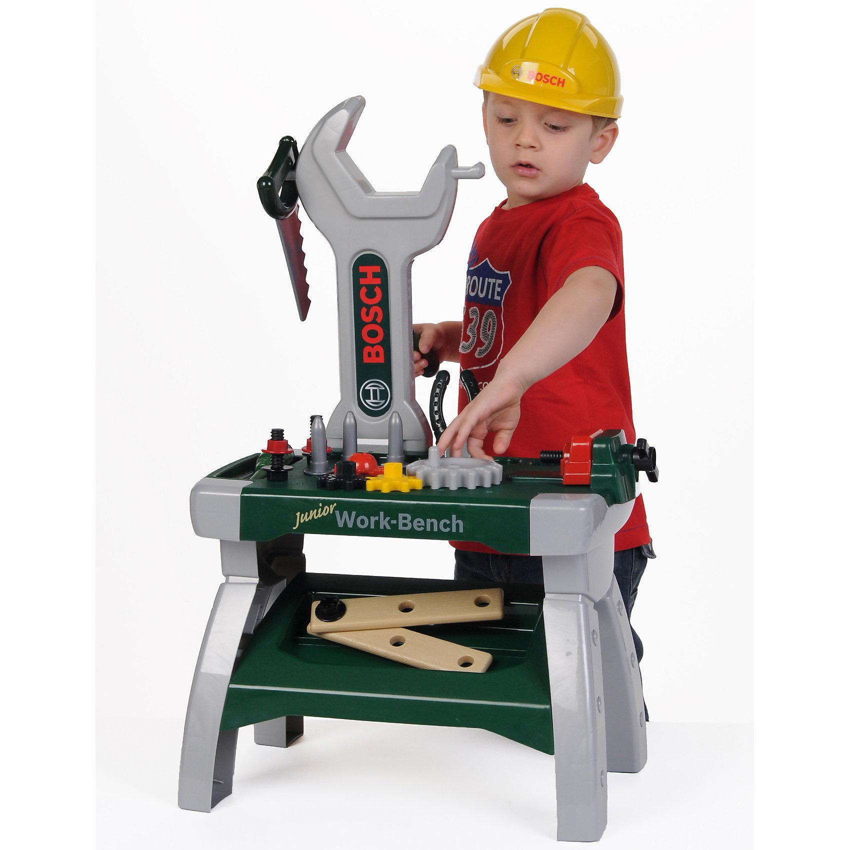klein Верстак с инструментами Bosch Junior, Klein конструктор klein bosch собери машинку 3 в 1 8168