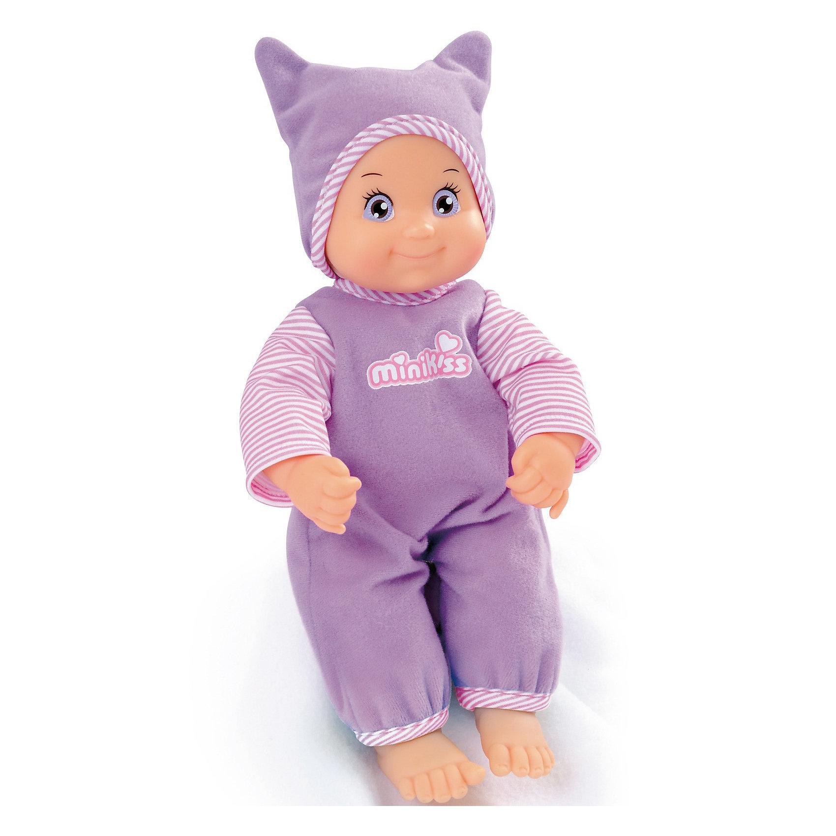 Smoby Интерактивная Кукла Minikiss, 27 см.