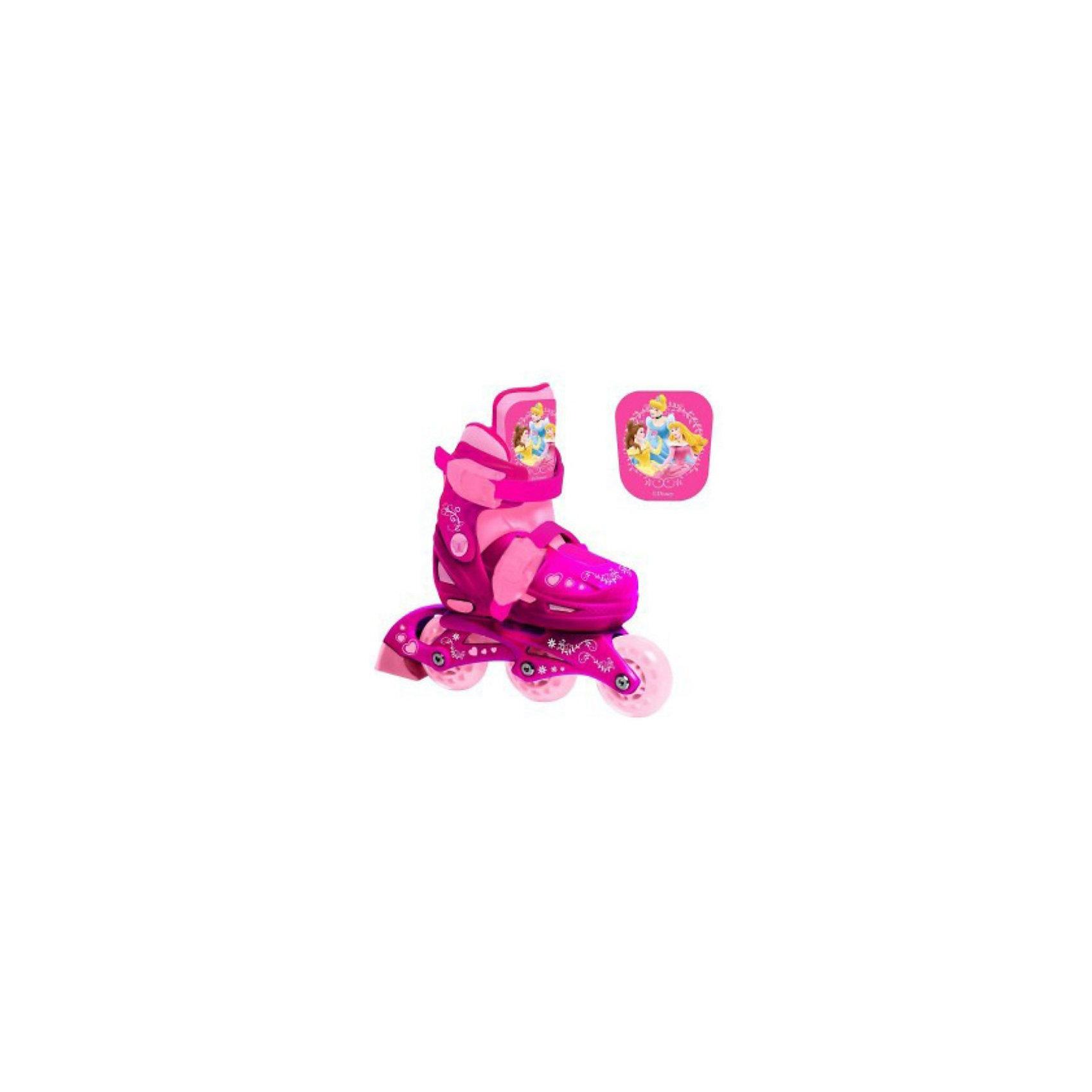 - Next ролики раздвижные, Принцессы Disney, р-р 30-33 onlitop ролики раздвижные 29 32 размер