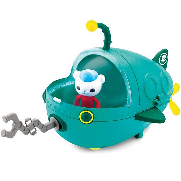 Подводная лодка, Октонавты, Fisher PriceКорабли и лодки<br>Подводная лодка, Октонавты, Fisher Price (Фишер Прайс)<br><br>Характеристики:<br><br>• всё необходимое для веселой спасательной операции<br>• в комплекте: подводная лодка, фигурки Барнаклса и рыбу-удильщика, аксессуары<br>• материал: пластик<br>• размер упаковки: 15х31х8 см<br><br>Набор с подводной лодкой от Фишер Прайс способен осчастливить каждого поклонника мультфильма Октонавты. С этим набором ребенок сможет отправиться в подводное плавание с самим капитаном Барнаклсом, а также спасти рыбу-удильщика. В комплекте входит всё необходимое для веселой игры: подводная лодка, фигурка капитана, фигурка рыбы и аксессуары. Подводная лодка умеет быстро плавать в воде и ездить по плоской поверхности. Для этого потребуется завести пропеллер. Организуйте настоящую спасательную миссию вместе с отважными Октонавтами!<br><br>Подводную лодку, Октонавты, Fisher Price (Фишер Прайс) можно купить в нашем интернет-магазине.<br>Ширина мм: 313; Глубина мм: 281; Высота мм: 159; Вес г: 726; Возраст от месяцев: 24; Возраст до месяцев: 48; Пол: Унисекс; Возраст: Детский; SKU: 2475170;