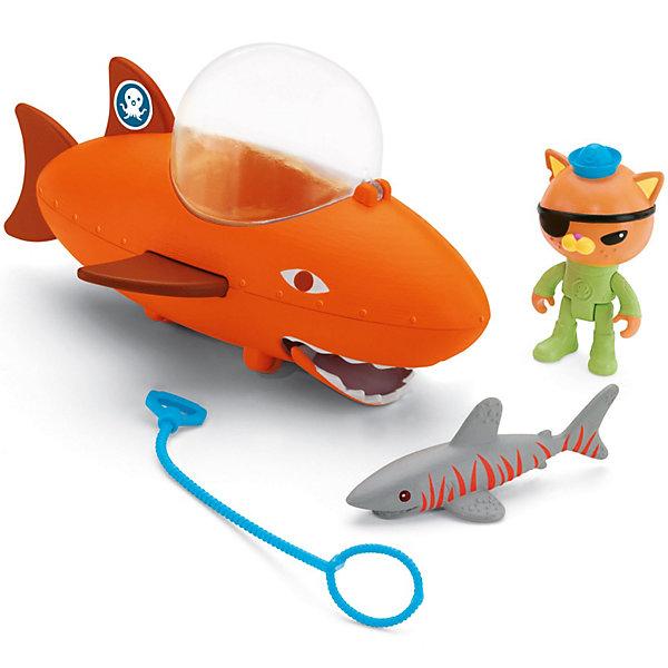 Подводный транспорт, Октонавты, Fisher PriceКоллекционные и игровые фигурки<br>Подводный транспорт, Октонавты, Fisher Price(Фишер Прайс)<br><br>Характеристики:<br><br>• подводная лодка может двигать челюстями и выпускать<br>• акула меняет цвет в теплой воде<br>• в комплекте: фигурка лейтенанта Квази, акула, подводная лодка, веревка<br>• материал: пластик<br>• размер упаковки: 23х12х23 см<br>• вес: 350 грамм<br><br>Присоединиться к команде смелых октонавтов очень просто. Можно, например, помочь лейтенанту Квази спасти акулу. А к него есть всё необходимое для этого: прочная веревка и, конечно же, подводная лодка в виде акулы. Если нажать ей на плавник - лодка начнет двигать челюстями и выпускать воду, распугивая злых обитателей моря. <br>Игрушки изготовлены из безопасного пластика и отлично подойдут для веселых приключений октонавтов!<br><br>Подводный транспорт, Октонавты, Fisher Price(Фишер Прайс) вы моете купить в нашем интернет-магазине.<br>Ширина мм: 232; Глубина мм: 233; Высота мм: 125; Вес г: 349; Возраст от месяцев: 36; Возраст до месяцев: 60; Пол: Унисекс; Возраст: Детский; SKU: 2475179;