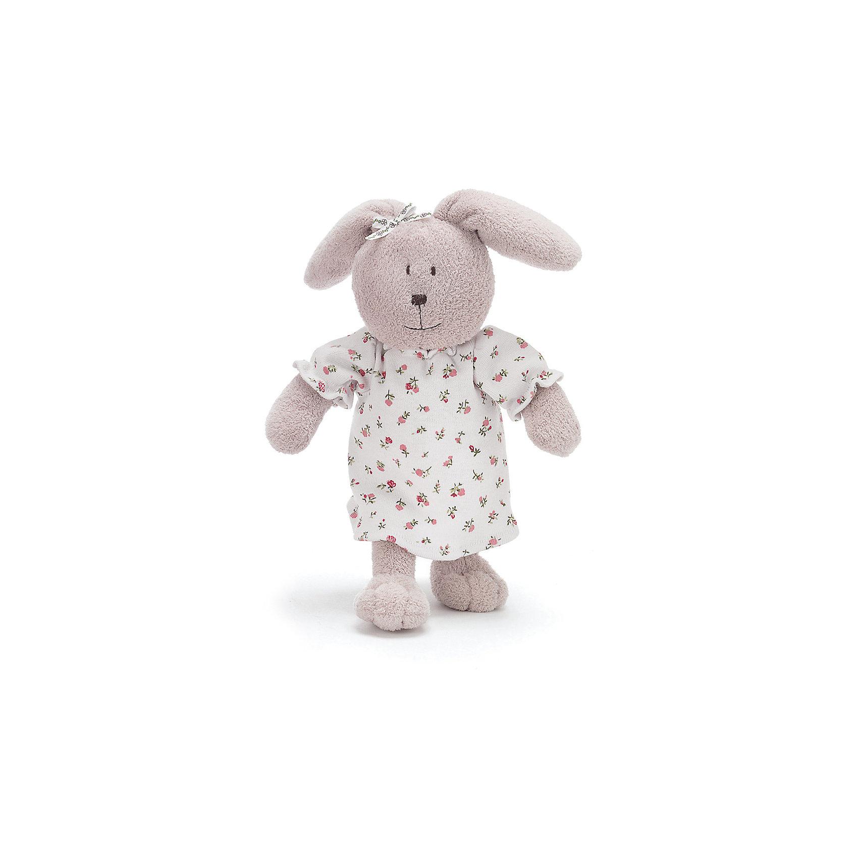 Фанни большая, 41 см, TeddykompanietБольшая мягкая игрушка Крольчиха Фанни Teddykompaniet предназначена  для маленькой девочки, которой необходима игрушка для сна. Очень стильная нежная мягкая игрушка – мама кролик подарит тепло и уют вашему ребенку.<br><br>Текстильная игрушка Крольчиха Фанни одета в ночную рубашку и уже готова пойти спать. Высококачественные материалы, из которых изготовлена мягкая игрушка Крольчиха Фанни, обеспечат  безопасность при общении с малышом. <br><br>Цвет крольчихи – серый. Лицо вышито нитками, что является дополнительным удобством, а также обеспечит безопасность игрушки, например, для совсем маленьких детей.<br>Белая ночная рубашка в мелкий цветочек – съемная.<br>Пикантный бантик на ушке мягкой игрушки.     <br><br>Дополнительная информация:<br><br>Высота: 41 см<br>Рекомендуется ручная стирка при температуре 40°С<br><br>Ширина мм: 410<br>Глубина мм: 410<br>Высота мм: 410<br>Вес г: 400<br>Возраст от месяцев: 12<br>Возраст до месяцев: 1188<br>Пол: Унисекс<br>Возраст: Детский<br>SKU: 2489722