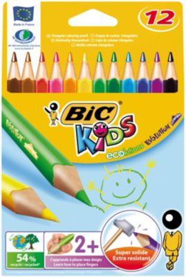 BIC Карандаши цветные Эволюшен Триэнжел 12 цветов