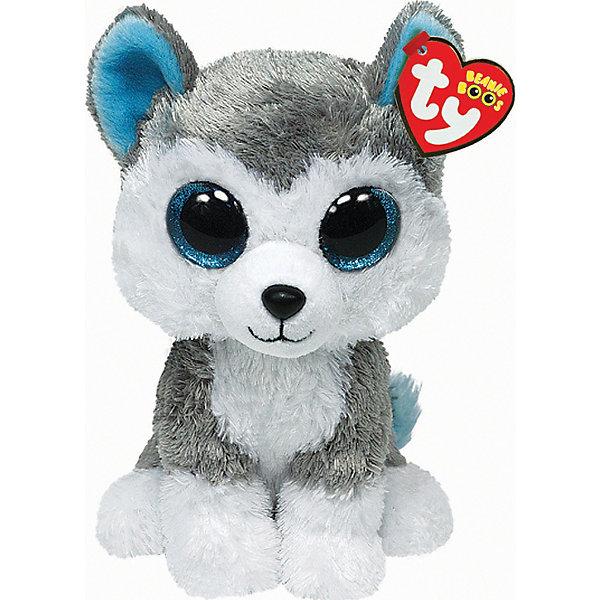 Волчонок Slush, 15 см, TyМягкие игрушки животные<br>Замечательный Волчонок Slush от Ту станет самым лучшим другом Вашему малышу. Он станет любимой игрушкой, с которой можно весело играть днем и уютно засыпать ночью. Игрушечный волчонок составит приятную компанию малышу на прогулке. Он представляет новую коллекцию мягких игрушек Beanie Boos. Особенность игрушки в том, что она понравится как мальчикам, так и девочкам. Замечательный Волчонок Slush с невероятно добрыми искренними глазками еще никого не оставлял равнодушным! У волчонка мягкая серая шерстка и смешные ушки. Ребенок может разыгрывать любые сюжеты с забавным другом, благодаря чему у него будет развиваться фантазия, воображение, а также навыки сюжетно-ролевой игры. Заботясь о маленьком друге малыш научится бережному отношению к своим вещам, игрушкам и животным. Рассказав ребенку о волчатах и их жизни в лесу, Вы расширите представления малыша об окружающем мире!<br><br>Дополнительная информация:<br><br>- Игрушка развивает: тактильные навыки, зрительную координацию, мелкую моторику рук;<br>- Материалы не вызовут аллергии у Вашего малыша;<br>- Яркие и стойкие цвета приятны для глаз;<br>- Материал: ткань, пластик, искусственный мех;<br>- Наполнение: синтепон;<br>- Высота игрушки: 15,24 см<br><br>Волчонка Slush, Ty, можно купить в нашем интернет-магазине.<br>Ширина мм: 175; Глубина мм: 116; Высота мм: 96; Вес г: 92; Возраст от месяцев: 12; Возраст до месяцев: 60; Пол: Унисекс; Возраст: Детский; SKU: 2495070;