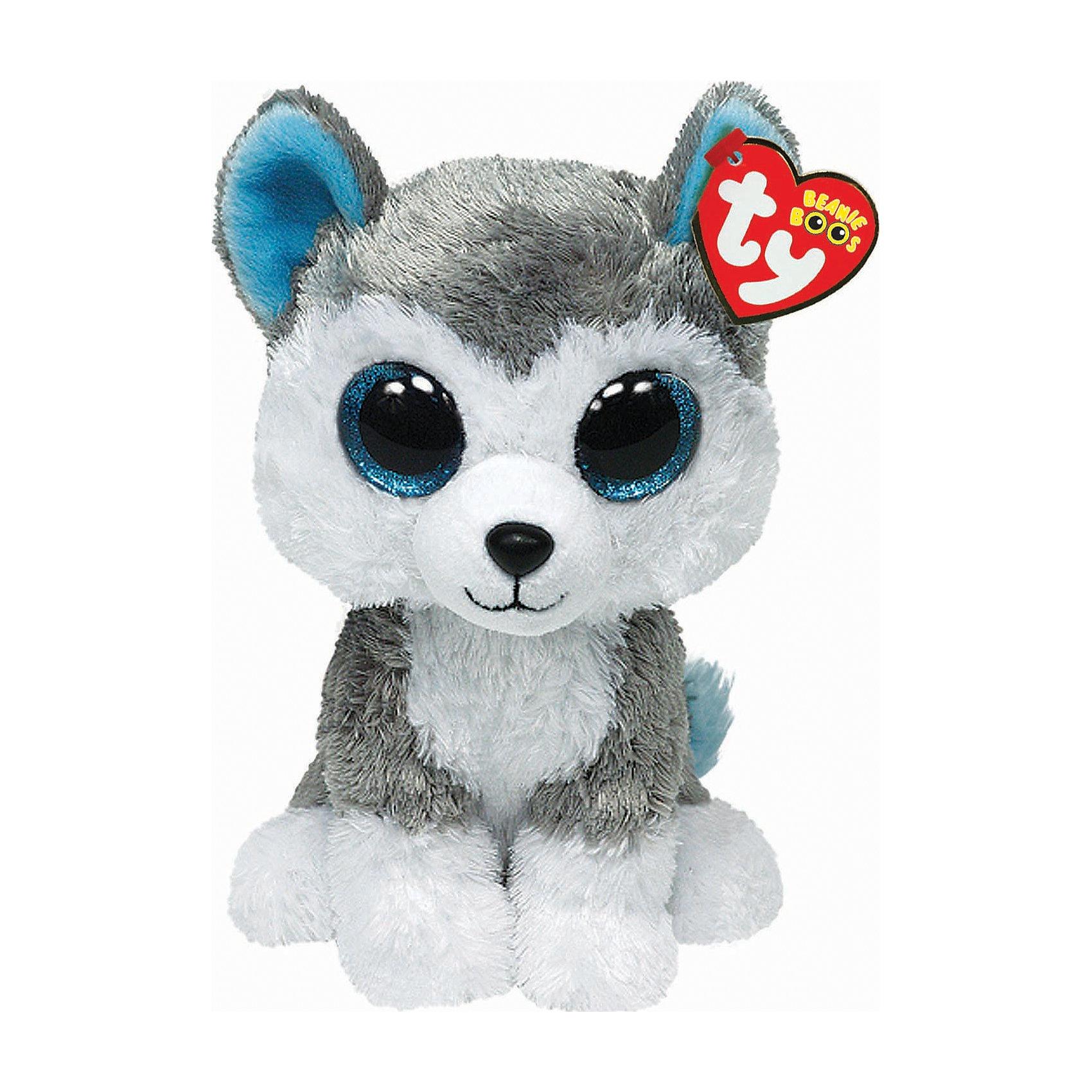 Волчонок Slush, 15 см, TyЗамечательный Волчонок Slush от Ту станет самым лучшим другом Вашему малышу. Он станет любимой игрушкой, с которой можно весело играть днем и уютно засыпать ночью. Игрушечный волчонок составит приятную компанию малышу на прогулке. Он представляет новую коллекцию мягких игрушек Beanie Boos. Особенность игрушки в том, что она понравится как мальчикам, так и девочкам. Замечательный Волчонок Slush с невероятно добрыми искренними глазками еще никого не оставлял равнодушным! У волчонка мягкая серая шерстка и смешные ушки. Ребенок может разыгрывать любые сюжеты с забавным другом, благодаря чему у него будет развиваться фантазия, воображение, а также навыки сюжетно-ролевой игры. Заботясь о маленьком друге малыш научится бережному отношению к своим вещам, игрушкам и животным. Рассказав ребенку о волчатах и их жизни в лесу, Вы расширите представления малыша об окружающем мире!<br><br>Дополнительная информация:<br><br>- Игрушка развивает: тактильные навыки, зрительную координацию, мелкую моторику рук;<br>- Материалы не вызовут аллергии у Вашего малыша;<br>- Яркие и стойкие цвета приятны для глаз;<br>- Материал: ткань, пластик, искусственный мех;<br>- Наполнение: синтепон;<br>- Высота игрушки: 15,24 см<br><br>Волчонка Slush, Ty, можно купить в нашем интернет-магазине.<br><br>Ширина мм: 152<br>Глубина мм: 96<br>Высота мм: 81<br>Вес г: 86<br>Возраст от месяцев: 12<br>Возраст до месяцев: 60<br>Пол: Унисекс<br>Возраст: Детский<br>SKU: 2495070