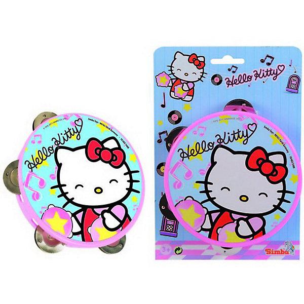Simba                 Тамбурин Hello KittyДругие музыкальные инструменты<br>Симпатичный розовый бубен с изображением белой кошечки Hello Kitty. В бубне с 4 металлические тарелочки, которые издают приятный мелодичный звук  при ударе в бубен.<br><br>Дополнительная информация:<br><br>- Материал: пластик и металл<br>- Размер игрушки: 15 см. <br>- Размер упаковки: 25 х 3,4 х 17 см.<br>- Вес:  0,126 кг.<br><br>Развивает мелкую моторику, музыкальный слух. и чувство ритма  <br><br>Приобрести бубен можно в нашем магазине<br><br>Ширина мм: 170<br>Глубина мм: 40<br>Высота мм: 250<br>Вес г: 126<br>Возраст от месяцев: 36<br>Возраст до месяцев: 1188<br>Пол: Унисекс<br>Возраст: Детский<br>SKU: 2497503
