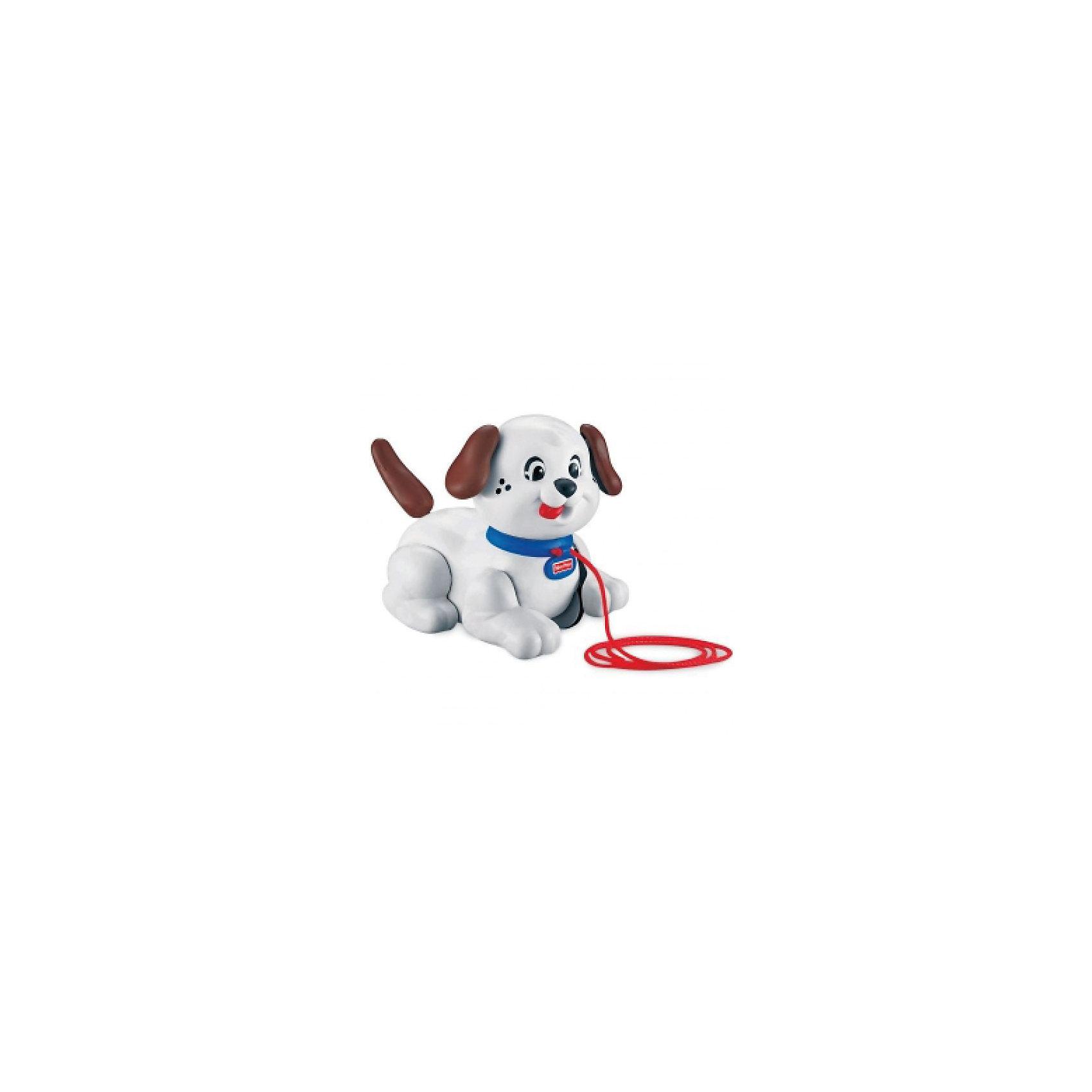 Fisher-Price Маленький Снупи,в ассортиментеFisher-Price Маленький Снупи: этот очаровательный щенок - милая и симпатичная игрушка-каталка для вашего ребенка. <br><br>Ребенок тянет игрушку за веревочку, а щенок Снупи поворачивает голову, покачивает ушками, трясет хвостиком и потявкивает.<br><br>На колесах имеются ребристые резиновые накладки для лучшего сцепления с поверхностью и бесшумной езды. <br><br>Дополнительная информация:<br><br>- Материал: высококачественная пластмасса.<br>- Размер игрушки: 17х12х16h см.<br>- Длина веревочки: 60 см.<br>- Размер упаковки 20х12х19 см.<br>- Вес с упаковкой 0,4 кг. <br>- Возраст от 1 года.<br><br>Маленькая собачка Снупи станет настоящим другом для Вашего ребенка. Игрушка стимулирует малыша к активным действиям и движению.<br><br>Ширина мм: 200<br>Глубина мм: 190<br>Высота мм: 120<br>Вес г: 1140<br>Возраст от месяцев: 12<br>Возраст до месяцев: 36<br>Пол: Унисекс<br>Возраст: Детский<br>SKU: 2499737