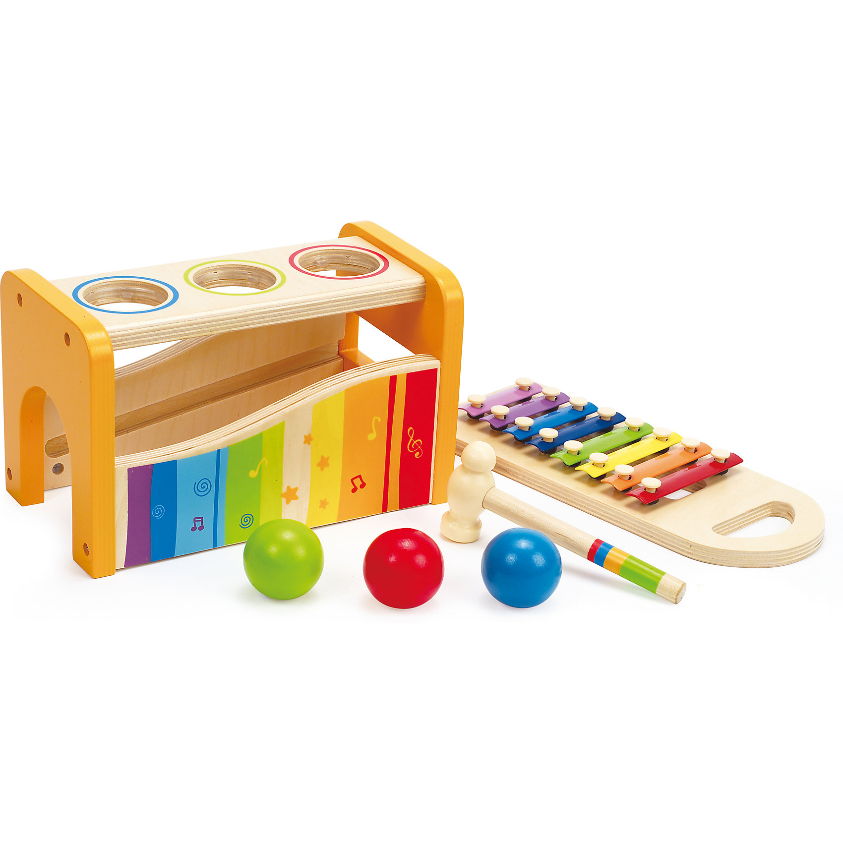 """Игрушка деревянная """"Музыкальный набор"""", Hape от myToys"""