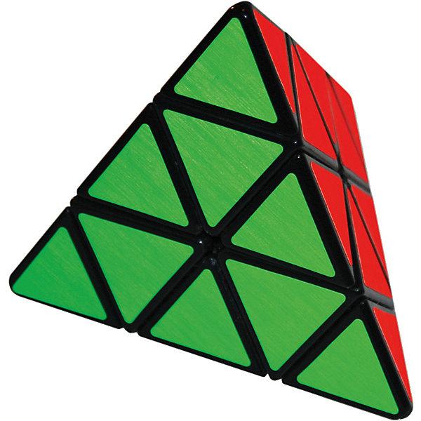 Головоломка Пирамидка, MeffertsГоловоломки Кубик Рубика<br>Mefferts Пирамидка (Mefferts Pyraminx): По лицензии знаменитого изобретателя Uwe Meffert, супер-качественная головоломка!<br><br>Известная механическая головоломка с 4-мя сторонами разного цвета. Предшественник кубика Рубика (появилась раньше!).<br><br>Цель - собрать все элементы одного цвета на одной стороне. <br><br>Пирамидка представляет собой геометрическое тело тетраэдр. Как и кубик Рубика, она состоит из элементов, которые при повороте граней могут перемешаться с грани на грань, только роль кубиков вдесь выполняют маленькие тетраэдры, из которых и сложен большой тетраэдр. Пирамидка похожа на кубик Рубика, однако значительно проще и для сборки потребуются другие алгоритмы. Каждый поворот - это вращение элементов вокруг одной из 4х осей головоломки на 120 градусов.<br><br><br>Дополнительная информация:<br><br>- Матовые виниловые наклейки с продленным сроком службы и яркими цветами сделаны в Германии по специальному заказу Mefferts.<br>- Подарочная упаковка-шестигранник.<br>- Высококачественный пластик и механизм с шариками-защёлками, обеспечивающими точную фиксацию каждого шага при вращении.<br><br>С момента появления, продано более 90 миллионов экземпляров, что ставит Пирамидку на 2-место по популярности сразу за кубиком Рубика.<br><br>Более 75 миллионов возможных комбинаций и не более 12 ходов на сборку (в теории!!). Разобравшись, вполне реально собирать Пирамидку не более чем за 20 поворотов.<br><br>Не обязательно собирать Пирамидку по цветам, можно создавать красивые симметричные узоры из комбинации цветов.<br><br>Ширина мм: 130<br>Глубина мм: 130<br>Высота мм: 115<br>Вес г: 300<br>Возраст от месяцев: 72<br>Возраст до месяцев: 1188<br>Пол: Унисекс<br>Возраст: Детский<br>SKU: 2504422