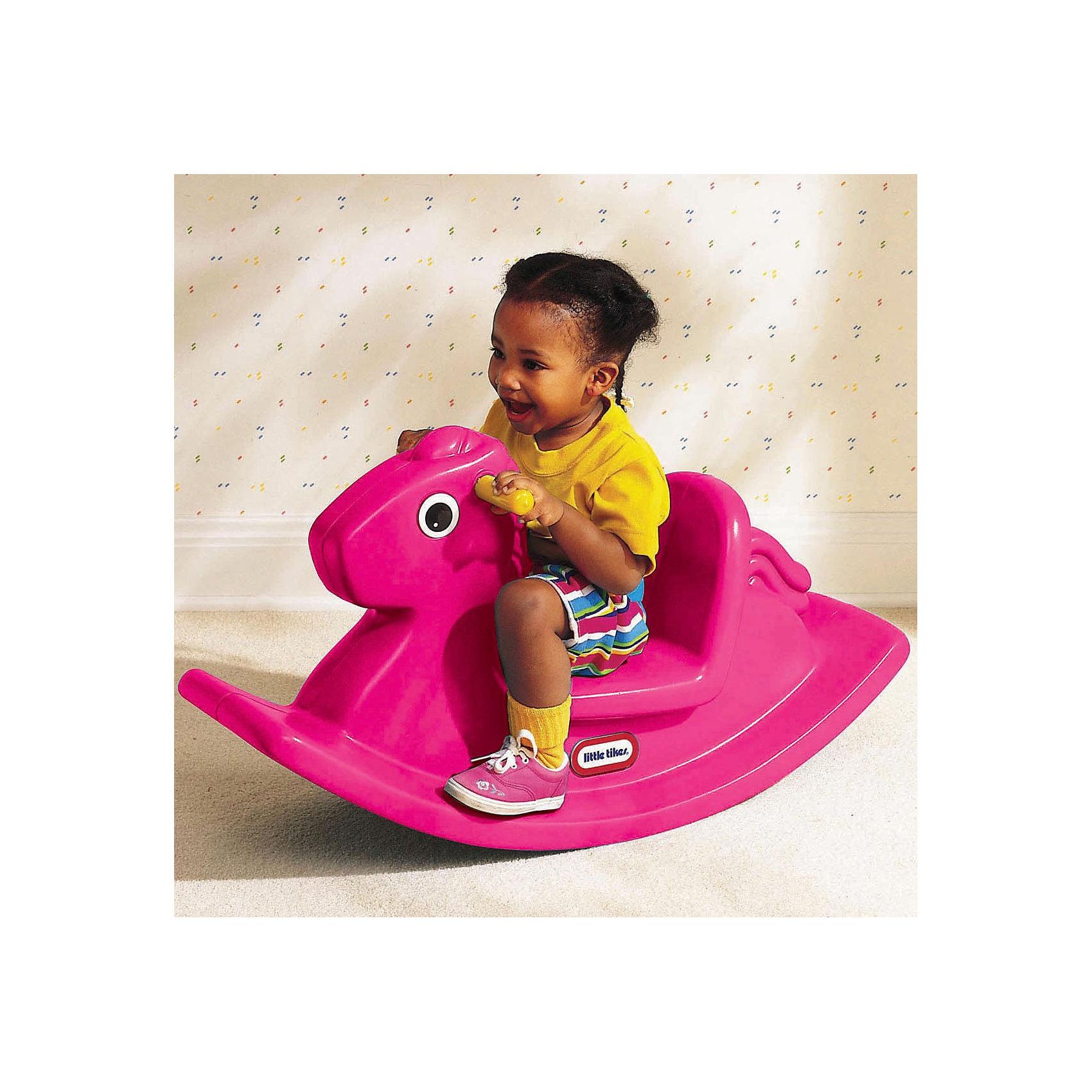 Little tikes Игрушка-качалка Лошадка розовая от myToys