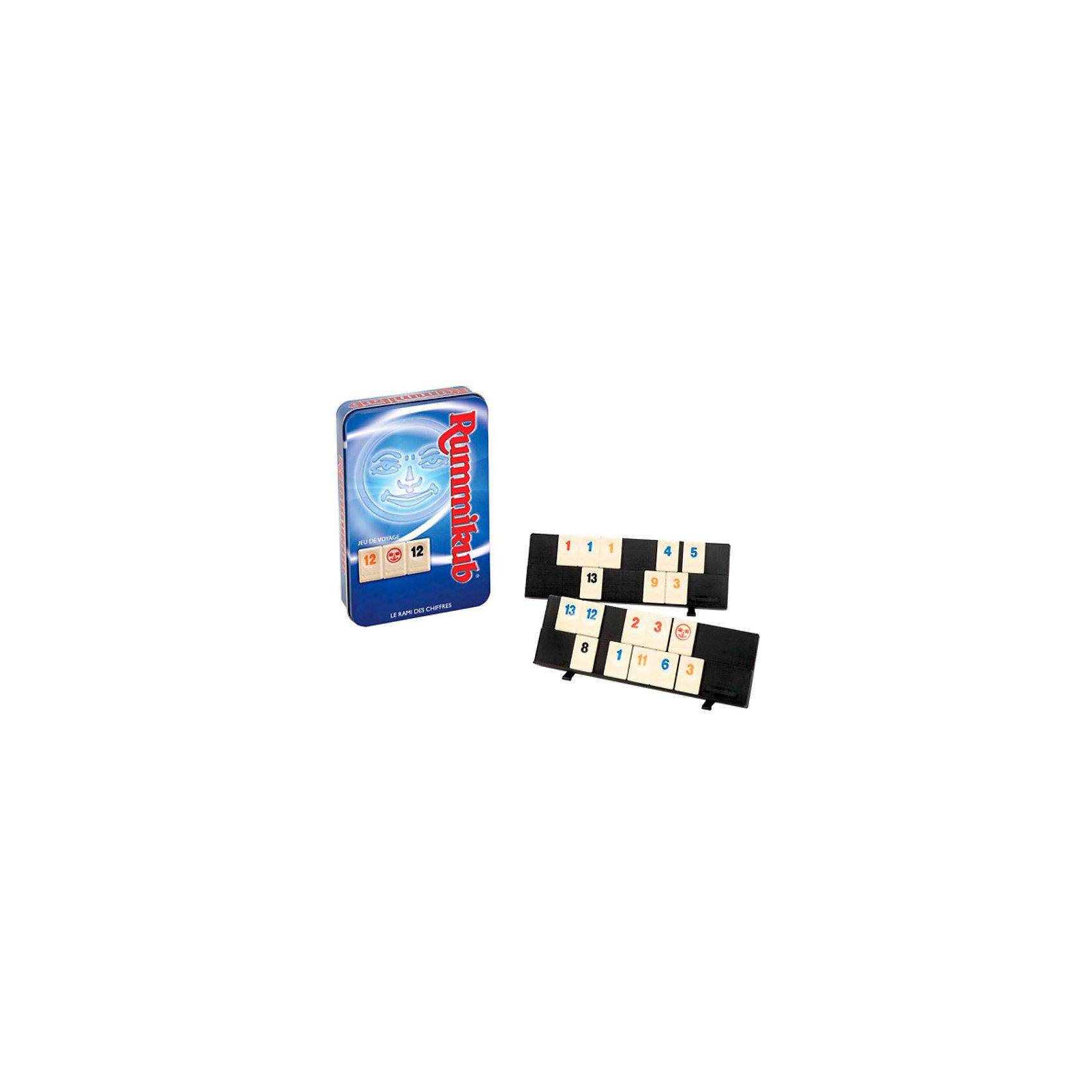 Игра Rummikub,  KODKODИгра Rummikub,  KODKOD (КОДКОД) – это  интересная и увлекательная игра как для детей так и для взрослых.<br>Компания Kodkod (Кодкод) выпустила версию популярной игры Руммикуб (Rummikub) в металлической коробке. Такая версия игры станет прекрасным подарком для ценителей логических настольных игр. Правила игры остались прежними: игроки должны как можно быстрее избавиться от своих фишек, собирая определенные комбинации и заработать наибольшее количество очков. Настольная игра Руммикуб (Rummikub) увлекает с первых минут игры. Можете не сомневаться, с этой замечательной игрой Вы проведете много незабываемых вечеров в кругу друзей.<br><br>Дополнительная информация:<br><br>- В комплекте: 106 фишек (в т.ч. 2 фишки-джокера), 4 подставки для фишек, правила игры на русском языке<br>- Количество игроков: от 2 до 4 человек<br>- Среднее время игры: 20 минут<br>- Материал: пластик<br>- Размер упаковки: 19х13х4.5 см.<br>- Вес: 200 гр.<br><br>Игру Rummikub,  KODKOD (КОДКОД) можно купить в нашем интернет-магазине.<br><br>Ширина мм: 130<br>Глубина мм: 198<br>Высота мм: 48<br>Вес г: 420<br>Возраст от месяцев: 84<br>Возраст до месяцев: 144<br>Пол: Унисекс<br>Возраст: Детский<br>SKU: 2513668