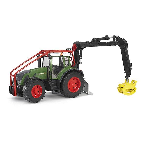 Трактор Fendt Vario лесной с манипулятором, BruderМашинки<br>Трактор Fendt Vario лесной с манипулятором, Bruder (Брудер) - это качественная детализированная игрушка с подвижными элементами.<br>Невероятно мощный, стильный, прочный, функциональный Трактор Fendt Vario лесной с манипулятором от немецкого производителя игрушек Bruder (Брудер) - это уменьшенная полноценная копия настоящей машины! Модель отличается высокой степенью детализации. Кабина трактора с открывающимися дверьми, прозрачным пластиком на окнах, водительским сидением, рулем и декоративными рычагами тщательно проработана. Машина имеет массу преимуществ и функций, она заинтересует или разовьет интерес ребенка к миру автомеханики. Манипулятор надежно захватывает поднимаемый груз, и может с легкостью менять угол наклона и фиксироваться в одном из положений. Капот трактора поднимается, открывая доступ к двигателю. Передняя ось трактора оснащена амортизатором, что позволит трактору сохранять устойчивость на любых труднопроходимых участках дороги, легко преодолевая препятствия на своём пути. Широкие большие колёса трактора с крупным протектором обеспечивают хорошую проходимость. Колеса прорезиненные. Они не гремят при езде и не царапают пол. Управление передними колесами осуществляется с помощью руля в кабине или дополнительного руля, который вставляется через отодвигающее отверстие на крыше трактора. Также имеется отдельный руль с приводом на колеса. Трактор оснащен фаркопом для прицепных устройств и отвалом с крюком на шнурке. Игрушка изготовлена из высококачественного пластика, устойчивого к износу и ударам. Продукция сертифицирована, экологически безопасна для ребенка, использованные красители не токсичны и гипоаллергенны.<br><br>Дополнительная информация:<br><br>- Масштаб 1:16<br>- Размер: 41,5 х 17,5 х 28,5 см.<br>- Материал: высококачественный ударопрочный пластик<br>- Цвет: зеленый, черный, красный<br><br>Трактор Fendt Vario лесной с манипулятором, Bruder (Брудер) можно купить в нашем интернет-магазин