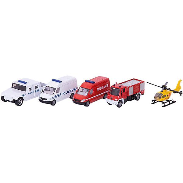 Набор «Спасательная техника», SIKUМашинки<br>С набором «Спасательная техника», SIKU (СИКУ) можно поиграть в увлекательную игру со спасательной техникой.<br><br>В комплект входят: вертолет, пожарный фургон, полицейский фургон, фургон скорой помощи, грузовой автомобиль Unimog. <br><br>Дополнительная информация:<br>-Размер упаковки: 28х11х5 см<br>-Материал: металл, пластиковые элементы<br><br>Набор металлических моделей машинок-отличный подарок мальчику на любой праздник.<br><br>Набор «Спасательная техника», SIKU (СИКУ) можно купить в нашем магазине.<br><br>Ширина мм: 285<br>Глубина мм: 109<br>Высота мм: 53<br>Вес г: 303<br>Возраст от месяцев: 36<br>Возраст до месяцев: 96<br>Пол: Мужской<br>Возраст: Детский<br>SKU: 2514154
