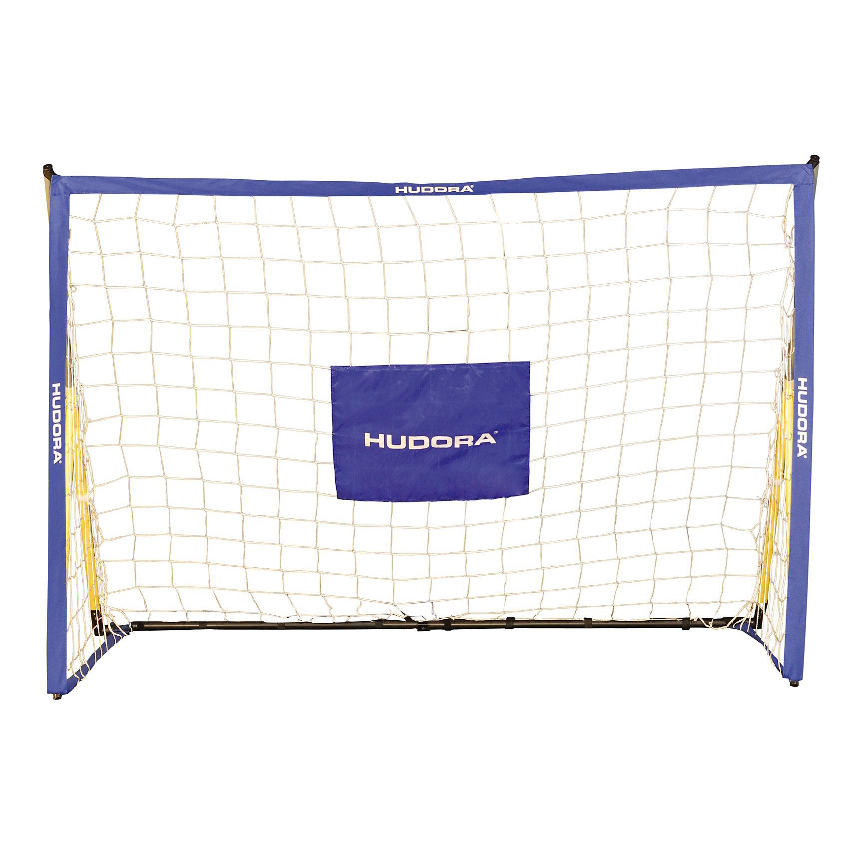 Hudora Футбольные ворота Foldable soccergoal, HUDORA спортивные игровые наборы hudora спортивный игровой набор