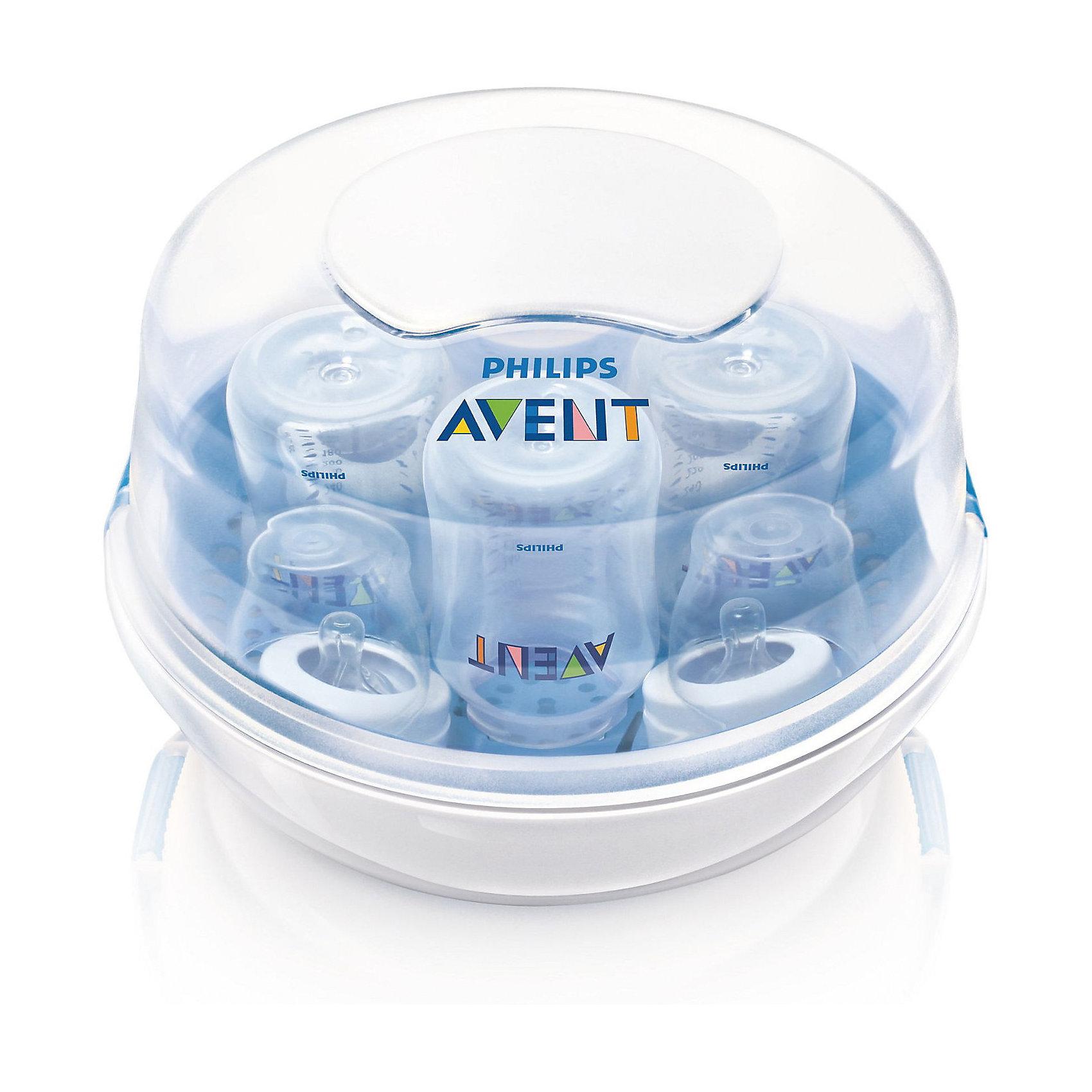 Стерилизатор бутылочек для СВЧ-печей SCF282/02, в комплекте 4 бутылочки, AVENT