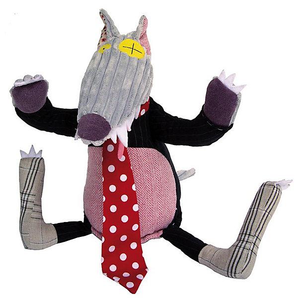 DEGLINGOS  Волк BigBos OriginalМягкие игрушки животные<br>DEGLINGOS  Волк BigBos Original (Деглингос)<br><br>Характеристики:<br><br>• оригинальный дизайн<br>• приятен на ощупь<br>• материал: текстиль<br>• размер упаковки: 13х18х21,5 см<br><br>Этого забавного волка от DEGLINGOS с первого взгляда полюбят и дети, и взрослые. Он изготовлен из разных тканей с разными цветами и очень приятен на ощупь. Глаза и ноги волка имеют разную форму, что делает его еще привлекательнее. Главный аксессуар зверюшки - яркий красный галстук в горошек. Очаровательный волк займет достойное место в вашем доме!<br><br>DEGLINGOS  Волк BigBos Original (Деглингос) вы можете купить в нашем интернет-магазине.<br><br>Ширина мм: 120<br>Глубина мм: 120<br>Высота мм: 350<br>Вес г: 230<br>Возраст от месяцев: 36<br>Возраст до месяцев: 1188<br>Пол: Унисекс<br>Возраст: Детский<br>SKU: 2523728