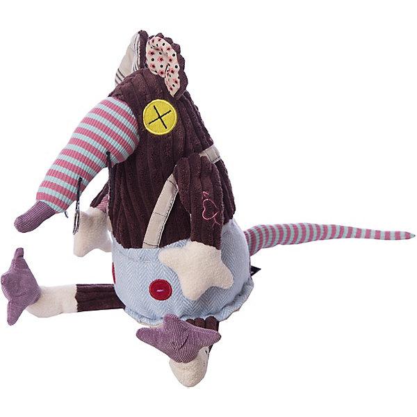 DEGLINGOS  Крыска Ratos OriginalМягкие игрушки животные<br>DEGLINGOS  Крыска Ratos Original (Деглингос)<br><br>Характеристики:<br><br>• оригинальный дизайн<br>• приятен на ощупь<br>• материал: текстиль<br>• размер упаковки: 13х18х21,5 см<br>• вес: 150 грамм<br><br>Яркая крыска Ratos изготовлена из разных кусочков ткани, приятных на ощупь. Она имеет разные глазки и ушки, но это совершенно не мешает ей оставаться милой и привлекательной. Игрушка непременно привлечет внимание детей и взрослых!<br><br>DEGLINGOS  Крыска Ratos Original (Деглингос) можно купить в нашем интернет-магазине.<br>Ширина мм: 120; Глубина мм: 120; Высота мм: 350; Вес г: 230; Возраст от месяцев: 36; Возраст до месяцев: 1188; Пол: Унисекс; Возраст: Детский; SKU: 2523732;