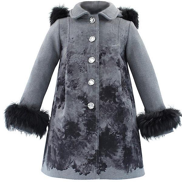STILLINI KIDS Пальто для девочкиВерхняя одежда<br>Драповое пальто из набивной ткани  для девочки , расклешённое к низу. С двумя карманами. На подкладке.<br>Состав:<br>64%п/э,31%вискоза,5%лайкра<br><br>Ширина мм: 356<br>Глубина мм: 10<br>Высота мм: 245<br>Вес г: 519<br>Цвет: серый<br>Возраст от месяцев: 60<br>Возраст до месяцев: 72<br>Пол: Женский<br>Возраст: Детский<br>Размер: 116<br>SKU: 2528266
