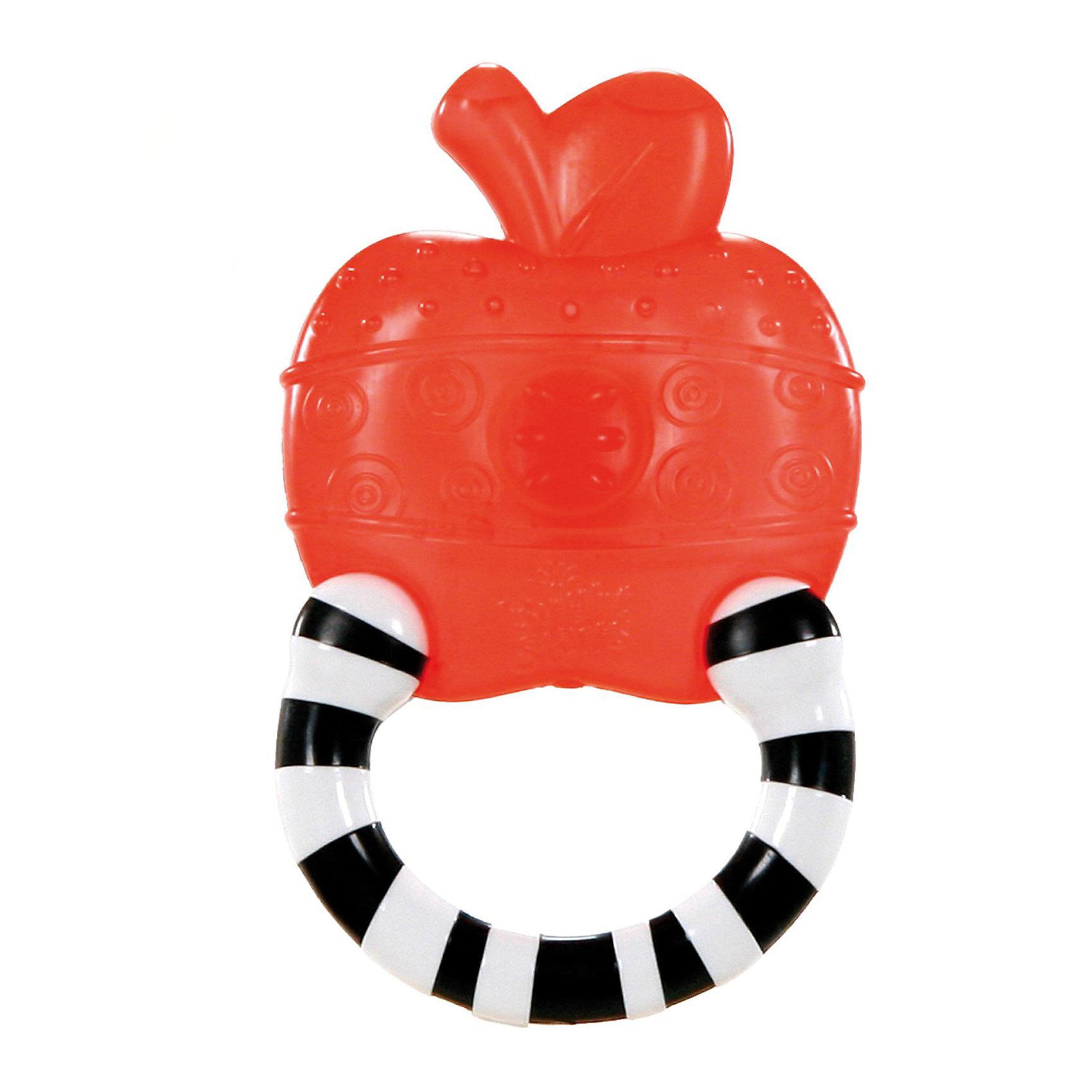 Мягкий прорезыватель для зубок «Полосатое колечко», Яблоко Bright StartsПрорезыватели<br>Удивительный, мягкий прорезыватель для зубов «Полосатое колечко» в виде яблока от Bright Starts (Брайт Стартс) станет помощником для Вашего малыша в период роста зубок. Модель может использоваться детьми возрастом от 3 месяцев до 1 года.<br><br>Мягкий прорезыватель поможет малышу снять болезненность с десен, благодаря специальному материалу, применяемому в процессе производства. Удобная форма модели позволяет ребенку крепко и надежно держать ее в ручках. Высококонтрастные цвета игрушки прекрасно развивают зрение малыша. Также отлично развиваются тактильные ощущения, что достигается за счет различных структур на прорезыватели.<br><br>Удивительно маленькие размеры позволят с удобством взять прорезыватель в гости или путешествие. Мягкий прорезыватель для зубок «Полосатое колечко» - это великолепный подарок для Вашей любимой крохи.<br><br>Дополнительная информация:<br><br>- Размеры товара: 8 * 2 * 12 см<br>- Размеры коробки: 12 * 2 * 19 см<br><br>Мягкий прорезыватель для зубок «Полосатое колечко», Яблоко Bright Starts (Брайт Стартс) можно купить в нашем интернет-магазине.<br><br>Ширина мм: 120<br>Глубина мм: 190<br>Высота мм: 20<br>Вес г: 113<br>Возраст от месяцев: 3<br>Возраст до месяцев: 12<br>Пол: Унисекс<br>Возраст: Детский<br>SKU: 2531389