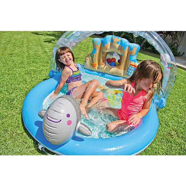Детский надувной игровой центр На лужайке, IntexИгровые центры<br>Характеристики тоавара:<br><br>• вкомплекте: детский надувной игровой центр На лужайке Интекс, 6 разноцветным шариков <br>• размер: 155x130x84 см<br>• объем бассейна 123 л. при 80 % наполнении.<br>• высота бортиков 11 см.<br>• вес в упаковке: 4,5 кг.<br><br>Детский надувной игровой центр На лужайке, Intex (Интекс) может служить Вашим деткам прекрасным бассейном. <br><br>Если одолевает жара или захотелось водных процедур, Вы можете создать свой маленький оазис, просто подключив садовый шланг к распылителю-радуге. <br><br>В задней высокой стенке бассейна сделана маленькая пещера, где детки могут прятать свои игрушки.<br><br>Детский надувной игровой центр На лужайке, Intex (Интекс) можно купить в нашем интернет-магазине.<br>Ширина мм: 325; Глубина мм: 335; Высота мм: 391; Вес г: 7713; Возраст от месяцев: 36; Возраст до месяцев: 1164; Пол: Унисекс; Возраст: Детский; SKU: 2535132;