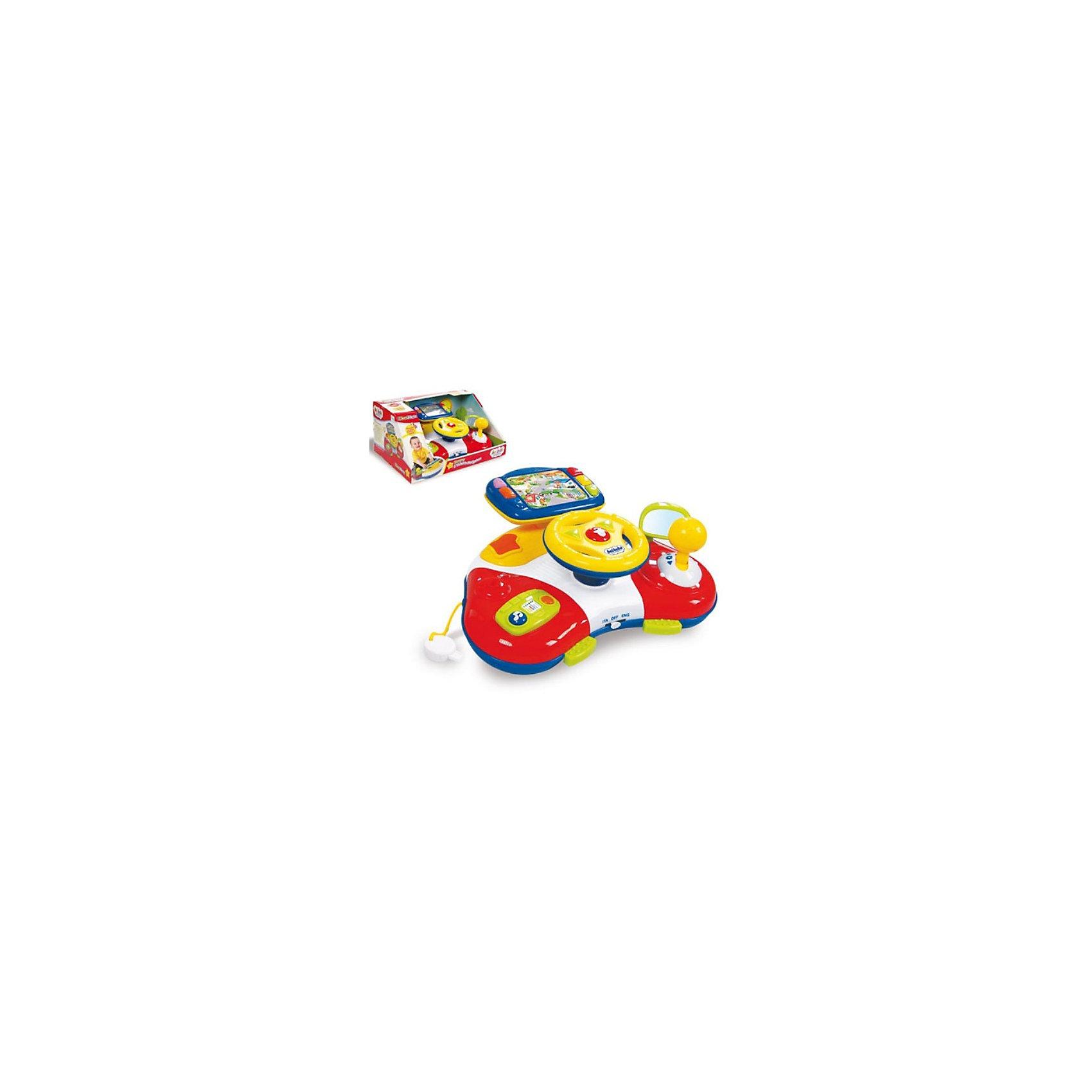 Clementoni Музыкальный навигатор ТоммиНавигатор Томми обучающая музыкальная игрушка, которая  включает в себя разнообразные электронные звуковые и световые эффекты, радио, дисплей с подсветкой, веселую музыку, крутящийся руль с ключом для зажигания и переключатель скоростей. Развивает моторику рук, воображение и ассоциативное восприятие. Инструкция и все надиписи на упаковке полностью русском языке.<br><br>Ширина мм: 400<br>Глубина мм: 280<br>Высота мм: 190<br>Вес г: 900<br>Возраст от месяцев: 12<br>Возраст до месяцев: 36<br>Пол: Унисекс<br>Возраст: Детский<br>SKU: 2539622