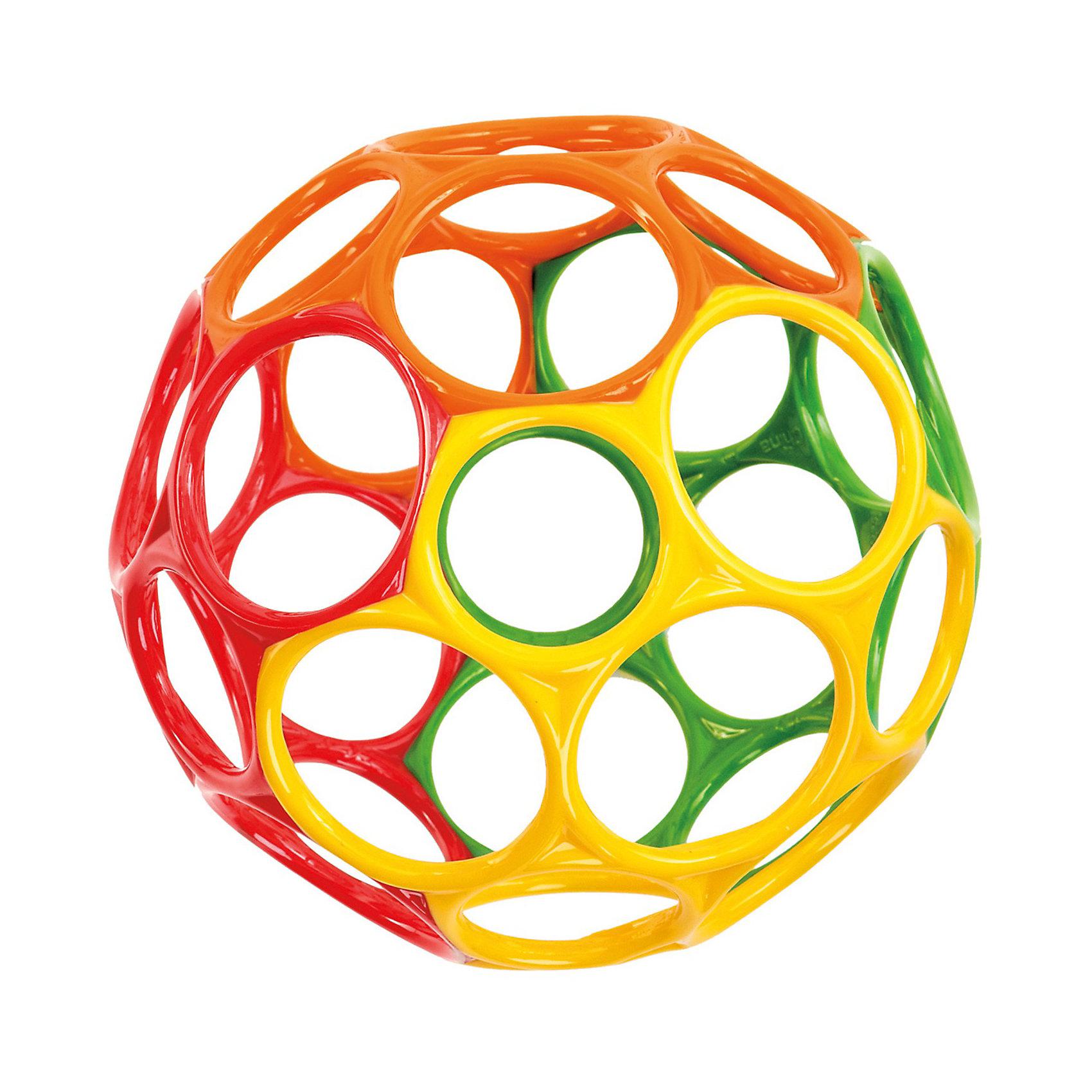 Мячик, 15см, OballЯркий мячик непременно привлечет внимание малыша. Кроха будет пытаться захватить его ручками, развивая зрение, координацию движений, моторику ручек. Мячик легко сжимать, хватать и бросать. Игрушка выполнена из экологичных, безопасных для детей материалов.<br><br>Дополнительная информация:<br><br>- Материал: пластик.<br>- Размер: d- 15 см. <br>- Можно мыть в посудомоечной машине.<br><br>Мячик, 15см, Oball, можно купить в нашем магазине.<br><br>Ширина мм: 179<br>Глубина мм: 177<br>Высота мм: 149<br>Вес г: 141<br>Возраст от месяцев: 3<br>Возраст до месяцев: 24<br>Пол: Унисекс<br>Возраст: Детский<br>SKU: 2539931