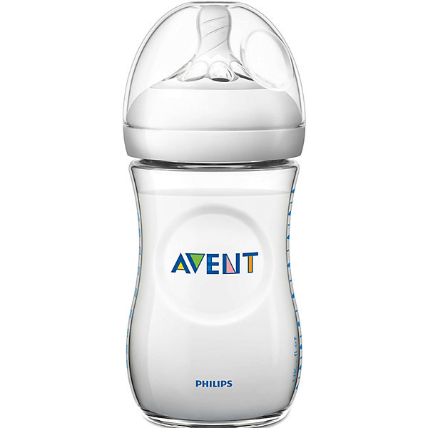 Бутылочка для кормления Natural, 260 мл, медленный поток,  AVENT210 - 281 мл.<br>Бутылочка серии Natural Philips AVENT (Авент) 260 мл, (соска с меленным потоком) помогает легче совмещать грудное вскармливание и кормление из бутылочки. Благодаря инновационному дизайну малышу теперь легче захватить соску, а его сосательные движения будут такими же, как при кормлении грудью. <br><br>Преимущества:<br>• Естественный захват благодаря широкой соске, повторяющей форму груди<br>• Уникальные лепестки придают соске дополнительную мягкость и гибкость <br>• Новая антиколиковая система с инновационным двойным клапаном <br>• Эргономичная форма для максимального комфорта<br>• Совместима с изделиями линейки Philips AVENT (Авент)<br>• Простота в использовании и очистке, быстрая и удобная сборка<br><br>Дополнительная информация:<br>• Бутылочка не содержит бисфенола-А*<br>• Доступны соски с различной скоростью потока<br>• Всегда используйте соединительное кольцо<br>• Бутылочка состоит всего из трех компонентов, что облегчает очистку, <br>и имеет стандартный колпачок для гигиеничного хранения и транспортировки <br><br>Рекомендуемый возраст: 0-6 мес.<br>Ширина мм: 71; Глубина мм: 170; Высота мм: 71; Вес г: 125; Возраст от месяцев: 0; Возраст до месяцев: 6; Пол: Унисекс; Возраст: Детский; SKU: 2541270;