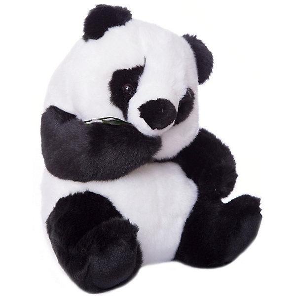 Hansa Панда, 25смМягкие игрушки животные<br>Панда, 25 см. Торговая марка Hansa стала широко известной и популярной практически во всем мире и получила множество международных призов. Игрушки максимально точно копируют оригинал и могут быть выполнены в натуральную величину. Шьются и набиваются вручную, что позволяет достигнуть максимальной реалистичности образа. Изготавливаются из искусственного меха, специально обработанного для придания схожести с мехом конкретного вида животного. Снабжены проволочным каркасом. При помощи игрушек Hansa можно создавать различные интерьерные образы в детских, студиях и «живых уголках».<br><br>Ширина мм: 210<br>Глубина мм: 210<br>Высота мм: 270<br>Вес г: 270<br>Возраст от месяцев: 36<br>Возраст до месяцев: 144<br>Пол: Унисекс<br>Возраст: Детский<br>SKU: 2541745