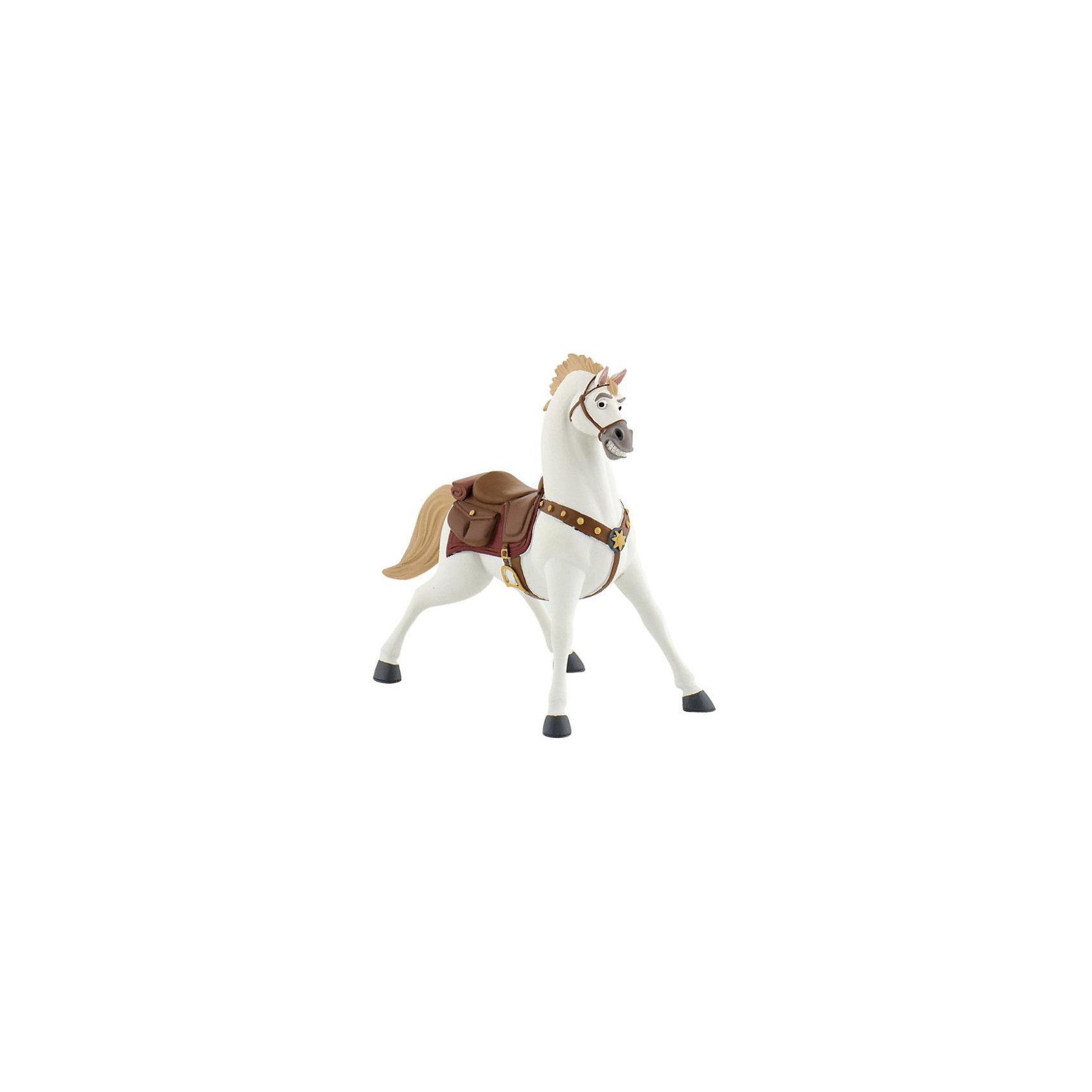 Фигурка Максимус,  DisneyЛюбимые герои<br>Фигурка коня Максимуса из мультфильма Уолта Диснея «Рапунцель». Конь королевской гвардии, храбрый и своенравный, стремительно идущий к своей цели. Повстречав Рапунцель, он был потрясен ее историей и стал ей другом. Именно Максимус, гениальный стратег и бесстрашный вояка, спас от гибели юную принцессу и ее спутника. Белоснежный красавец Максимус в сбруе и со звездой на мощной груди обязательно понравится детям. С фигуркой коня можно разыграть различные сюжеты из мультфильма, или придумать их самим. Игрушка выполнена из высококачественных нетоксичных материалов, безопасна для детей. <br><br>Дополнительная информация:<br><br>Размер:9,5см <br>Материал: термопластичный каучук высокого качества. <br> <br>Фигурку Максимус,  Disney можно купить в нашем магазине.<br><br>Ширина мм: 123<br>Глубина мм: 109<br>Высота мм: 48<br>Вес г: 62<br>Возраст от месяцев: 36<br>Возраст до месяцев: 96<br>Пол: Женский<br>Возраст: Детский<br>SKU: 2552950