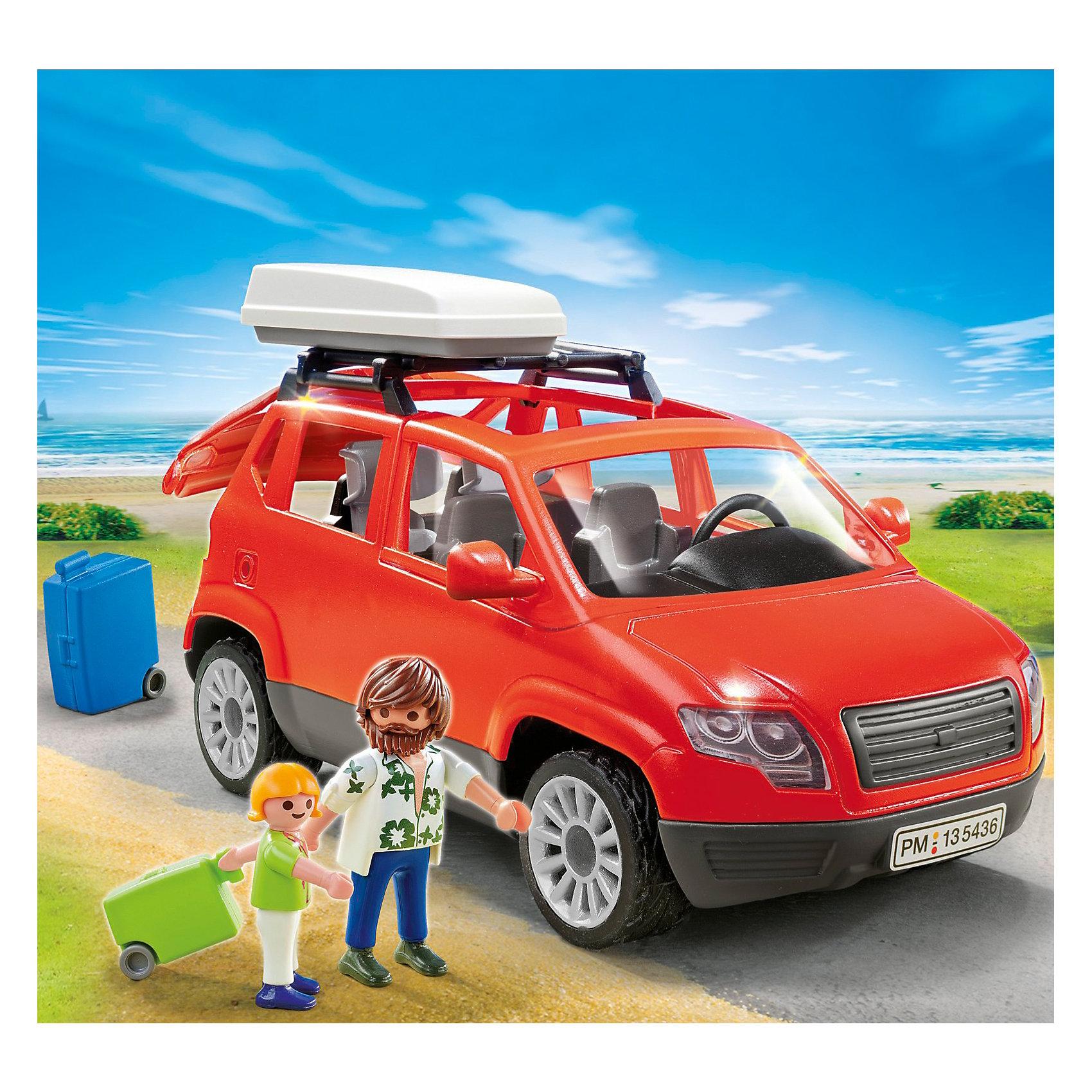 PLAYMOBIL® Каникулы: Семейный автомобиль, PLAYMOBIL playmobil® playmobil 5546 парк развлечений продавец шаров smileyworld