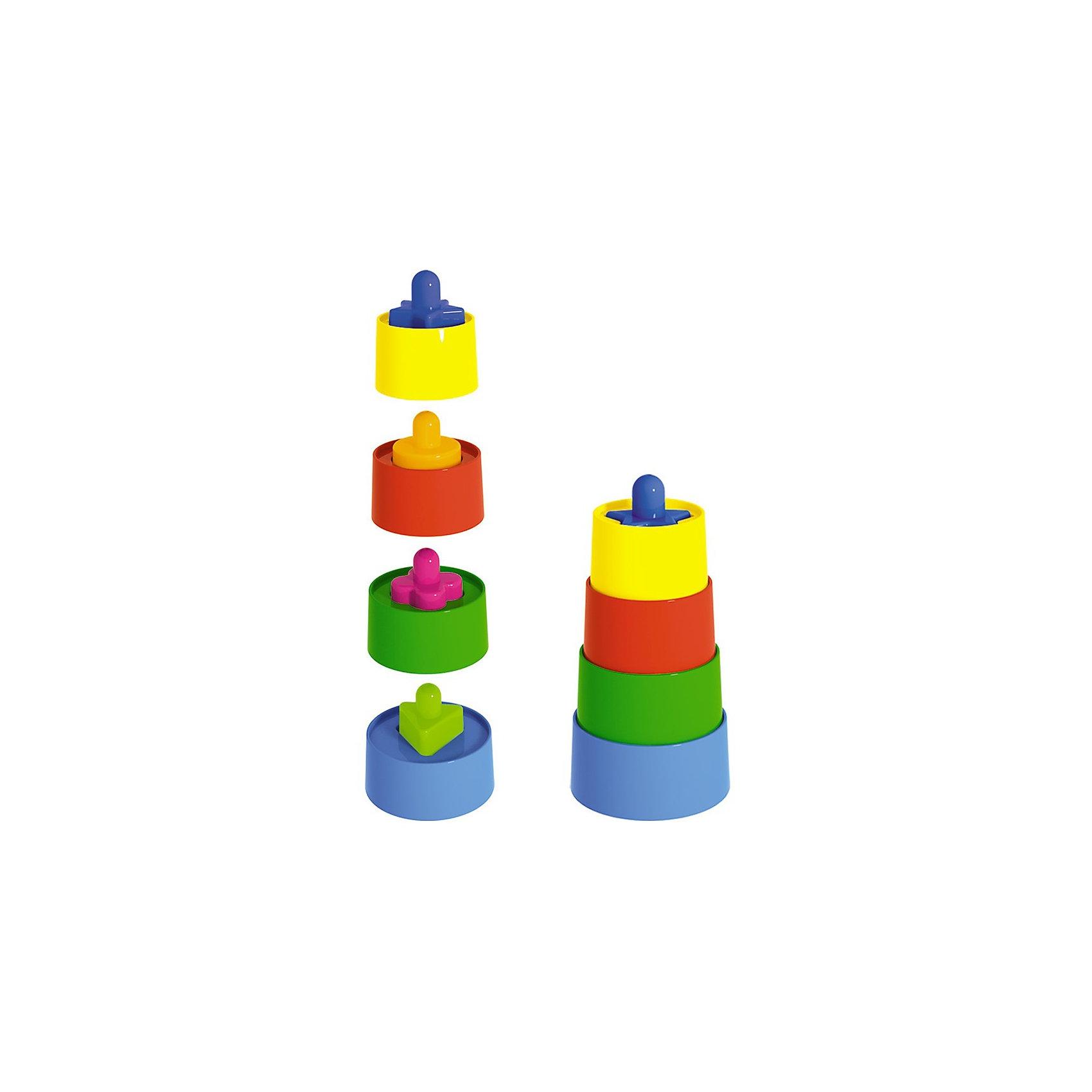 Стеллар Пирамидка Матрешка краснокамская игрушка развивающая пирамидка кольцевая
