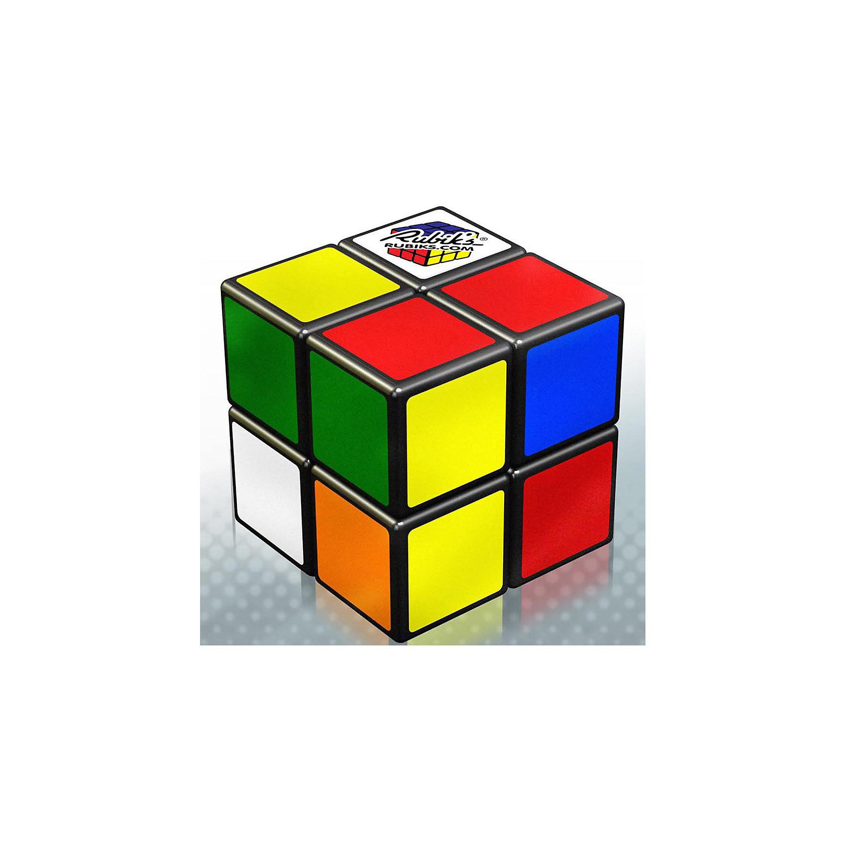 Головоломка Кубик Рубика 2х2, Rubiks3D пазлы<br>Rubiks Кубик Рубика 2х2 (сторона 46 мм) – это передовые технологии производства и дизайна, которые нашли отражение как в конструкции головоломки, так и в современной бумажной ЭКО-упаковке.<br><br>Особенности головоломки:<br><br>- Новый размер стороны – 46мм (на 15% больше предыдущей версии).<br>- Улучшенный механизм вращения, обеспечивающий плавное и мягкое вращение.<br>- Теперь без наклеек –  на всех сторонах кубика используются цветные пластиковые вставки, что обеспечивает долговечность кубика, отличный внешний вид и 100% защиту от любителей собрать головоломку с помощью переклеивания наклеек!<br><br>Дополнительная информация:<br><br>- Материал: пластик.<br>- Размеры упаковки, д х ш х в: 50 х 130 х 150 мм.<br>- Вес: 160 гр.<br><br>Ширина мм: 50<br>Глубина мм: 130<br>Высота мм: 150<br>Вес г: 160<br>Возраст от месяцев: 84<br>Возраст до месяцев: 1188<br>Пол: Унисекс<br>Возраст: Детский<br>SKU: 2556262