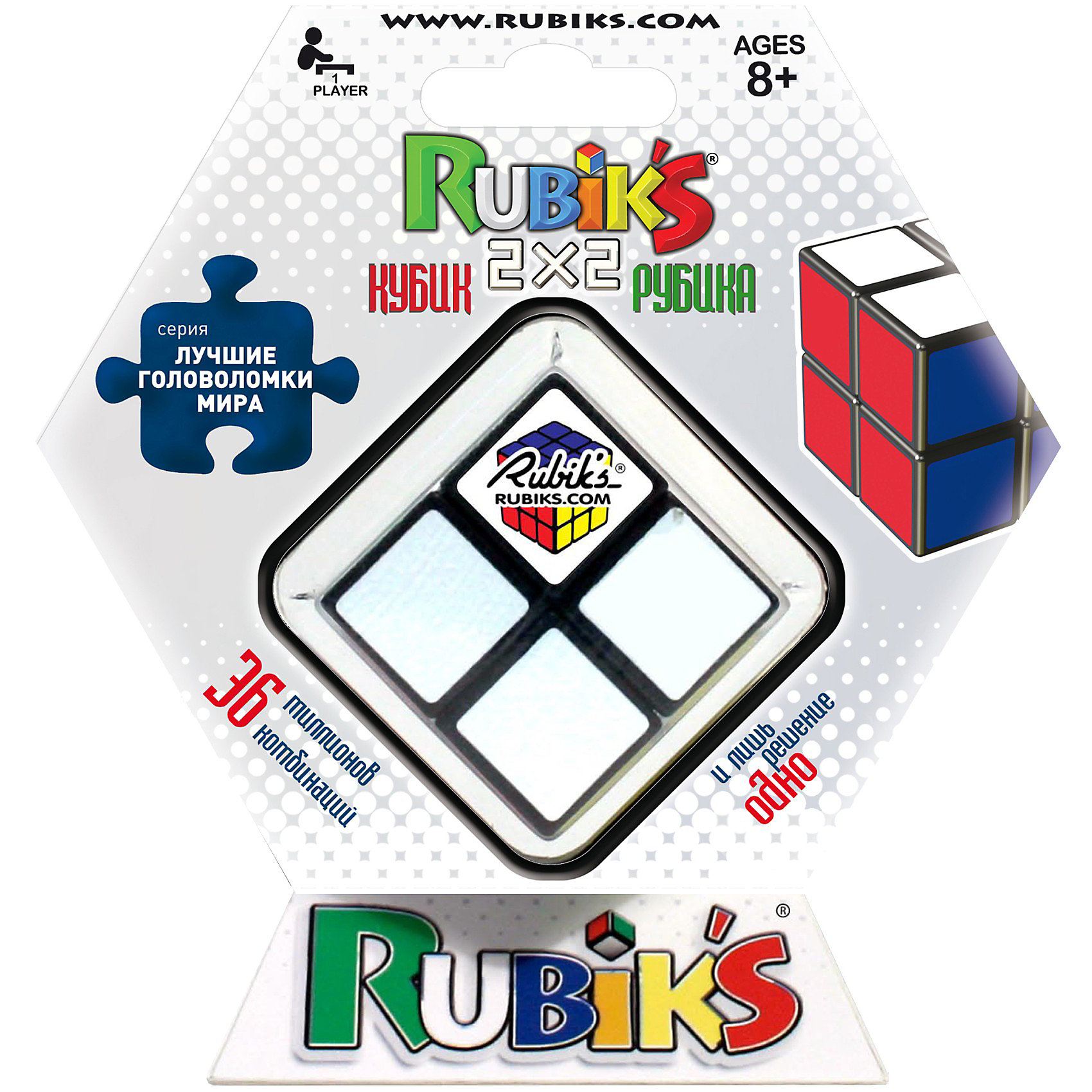 "Головоломка ""Кубик Рубика 2х2"", Rubik's от myToys"