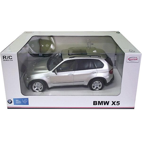 RASTAR Радиоуправляемая машина BMW X5 1:14Радиоуправляемые машины<br>RASTAR Радиоуправляемая машина BMW X5 1:14 - игрушка, которая наверняка приведет в восторг вашего ребенка, ведь эта радиоуправляемая машина - уменьшенная копия настоящего БМВ! <br><br>Модель выполнена в масштабе 1:14.<br><br>Особенности игрушки:<br><br>- Работает на частоте: 27MHz; <br>- Движение вперед, назад, вправо, влево; <br>- Контроль управления: 15 - 45 метров; <br>- Развивает скорость до: 7 км/ч; <br>- Светятся фары. <br><br><br>Дополнительная информация:<br><br>- Для работы требуются батарейки: 5 Х АА (не входят в комплект).<br>- Материалы: пластик.<br>- Размер упаковки: 43х22,5х19,5 см.<br>- Вес: 1330 г.<br>Ширина мм: 430; Глубина мм: 225; Высота мм: 195; Вес г: 1330; Возраст от месяцев: 72; Возраст до месяцев: 1188; Пол: Мужской; Возраст: Детский; SKU: 2557183;