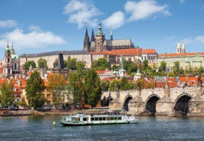 Пазлы Прага, Чехия , 1000 деталей, Castorland фото-1
