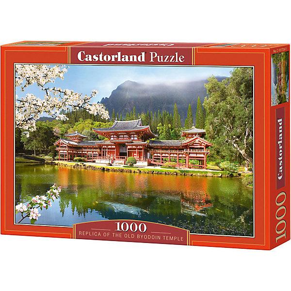 Пазл Пагода, 1000 деталей, CastorlandПазлы классические<br>Пазлы Пагода, 1000 деталей  - яркий, красивый и качественный пазл от Castorland.<br><br>Дополнительная информация:<br><br>- Кол-во деталей: 1000 шт.<br>- Материал: картон.<br>- Размер собранной картинки: 68 х 47 см.<br>- Размеры: 385 х 275 х 52 мм.<br>Ширина мм: 350; Глубина мм: 50; Высота мм: 250; Вес г: 500; Возраст от месяцев: 168; Возраст до месяцев: 1188; Пол: Унисекс; Возраст: Детский; Количество деталей: 1000; SKU: 2562327;