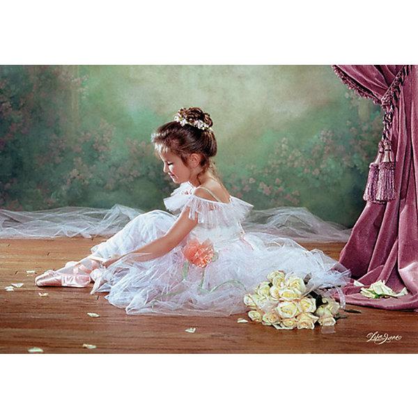 Пазлы Балерина, 500 деталей, CastorlandПазлы для детей постарше<br>Пазлы Балерина, 500 деталей  - нежный и красивый пазл с изображением юной балерины.<br><br>Дополнительная информация:<br><br>- Кол-во деталей: 500 шт.<br>- Материал: картон.<br>- Размер собранной картинки: 47 х 33 см.<br>- Размеры упаковки:   220x320x46 мм.<br><br>Пазлы Балерина, 500 деталей, Castorland (Касторленд) можно купить в нашем магазине.<br><br>Ширина мм: 320<br>Глубина мм: 47<br>Высота мм: 220<br>Вес г: 300<br>Возраст от месяцев: 72<br>Возраст до месяцев: 1188<br>Пол: Женский<br>Возраст: Детский<br>Количество деталей: 500<br>SKU: 2562332