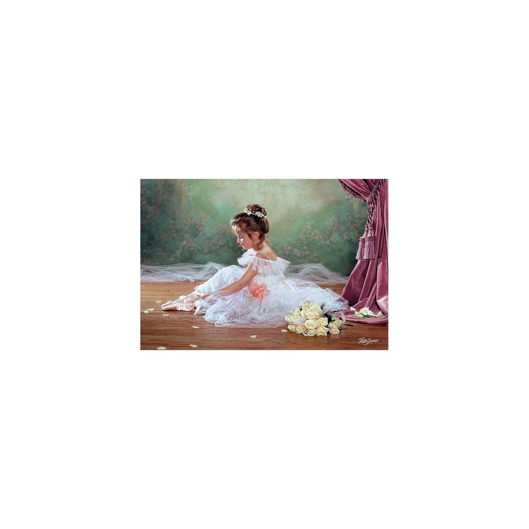 Пазлы Балерина, 500 деталей, CastorlandКлассические пазлы<br>Пазлы Балерина, 500 деталей  - нежный и красивый пазл с изображением юной балерины.<br><br>Дополнительная информация:<br><br>- Кол-во деталей: 500 шт.<br>- Материал: картон.<br>- Размер собранной картинки: 47 х 33 см.<br>- Размеры упаковки:   220x320x46 мм.<br><br>Пазлы Балерина, 500 деталей, Castorland (Касторленд) можно купить в нашем магазине.<br><br>Ширина мм: 320<br>Глубина мм: 47<br>Высота мм: 220<br>Вес г: 300<br>Возраст от месяцев: 72<br>Возраст до месяцев: 1188<br>Пол: Женский<br>Возраст: Детский<br>Количество деталей: 500<br>SKU: 2562332