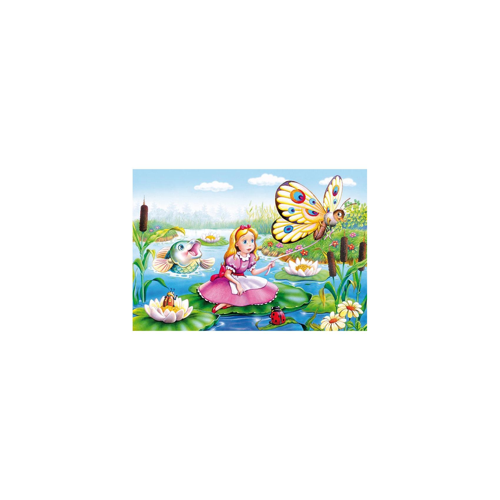 Castorland Пазлы Дюймовочка, 120 деталей, Castorland пазлы magic pazle объемный 3d пазл эйфелева башня 78x38x35 см